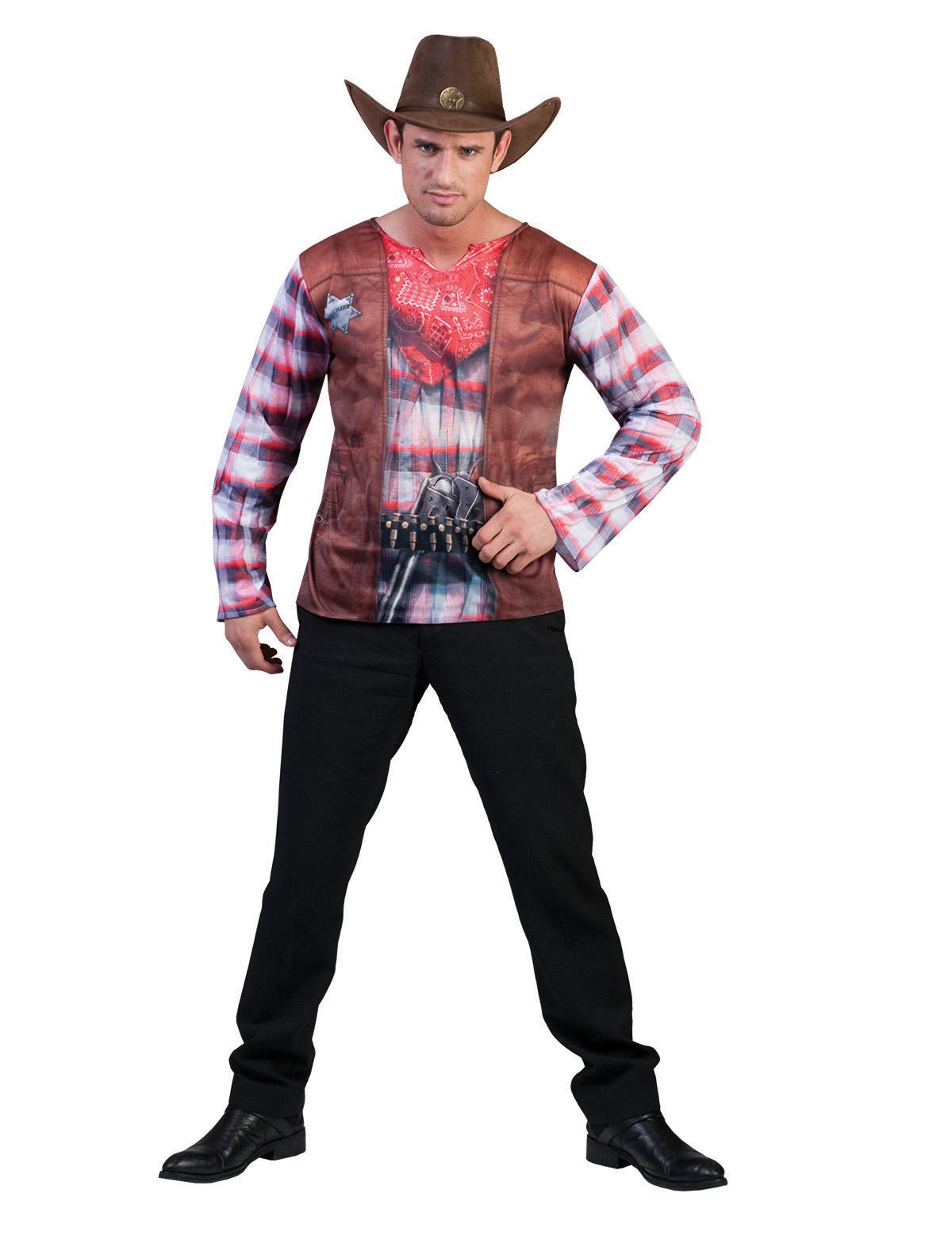 3D-Shirt Cowboy