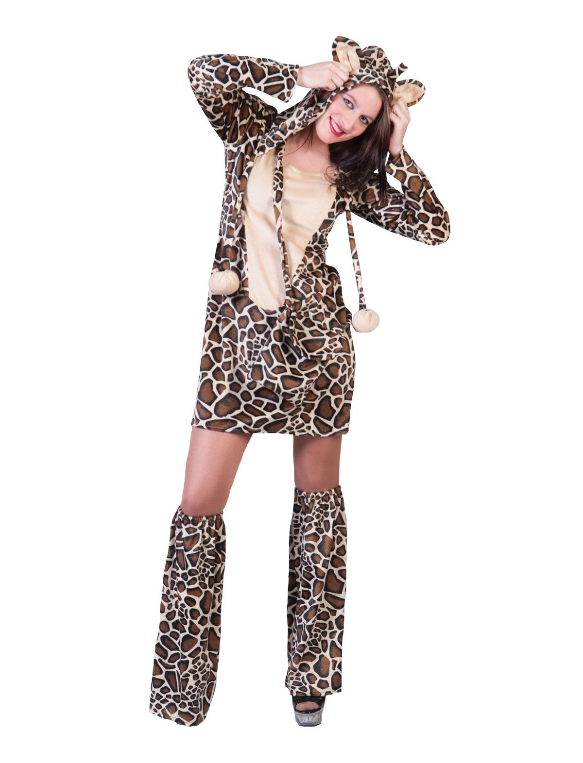 Kleid Giraffe Savanna