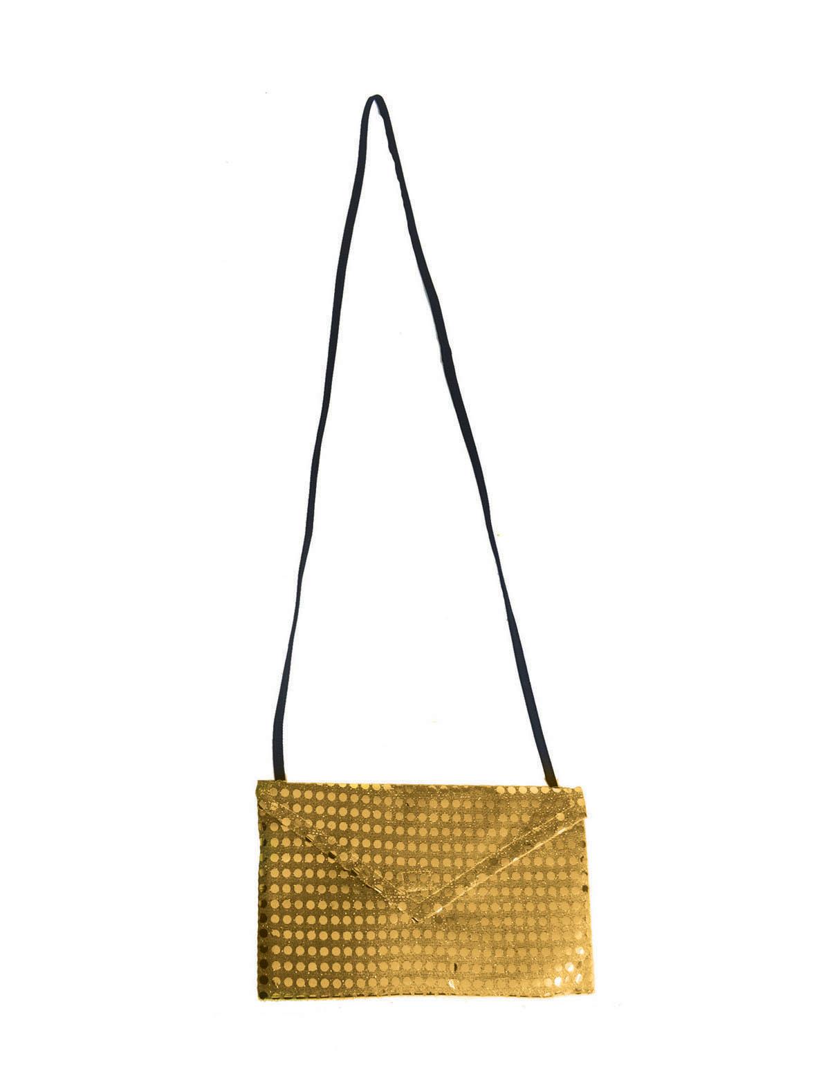 Tasche Pailletten gold