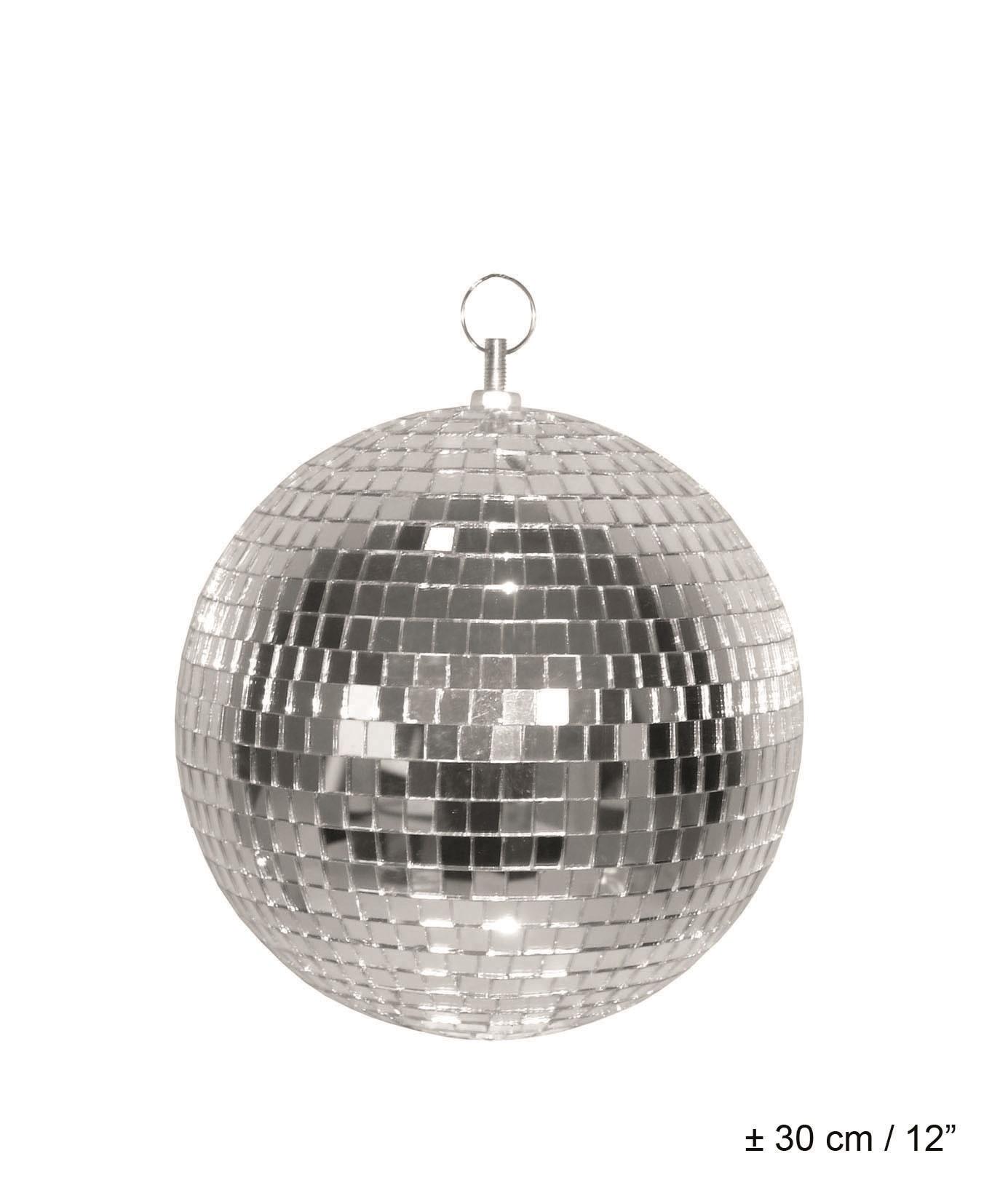 Spiegelkugel - Silber - 30 cm