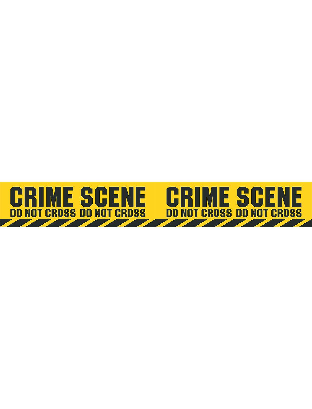 Absperrband Polizei Crime Scene