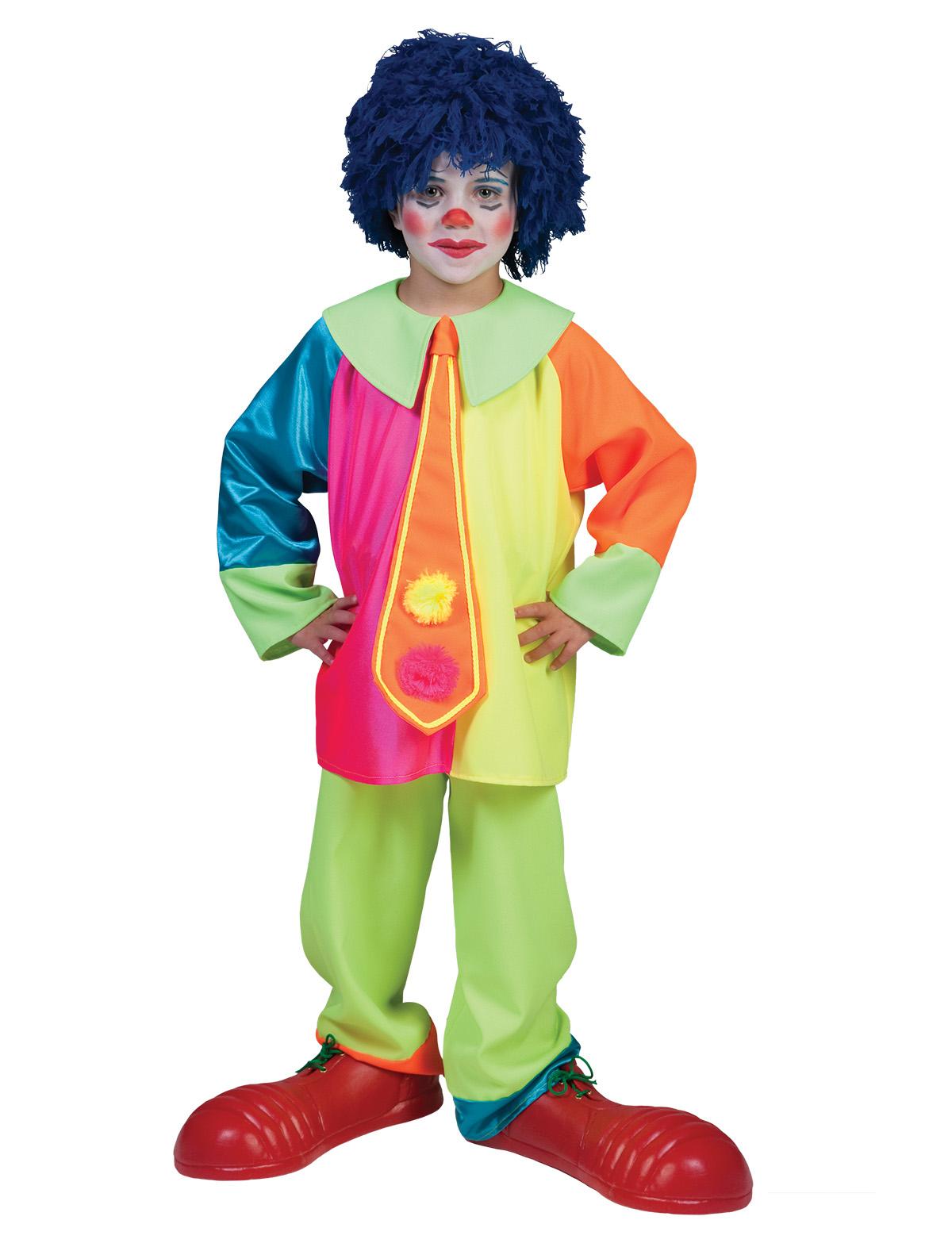 Clown Junge Happy