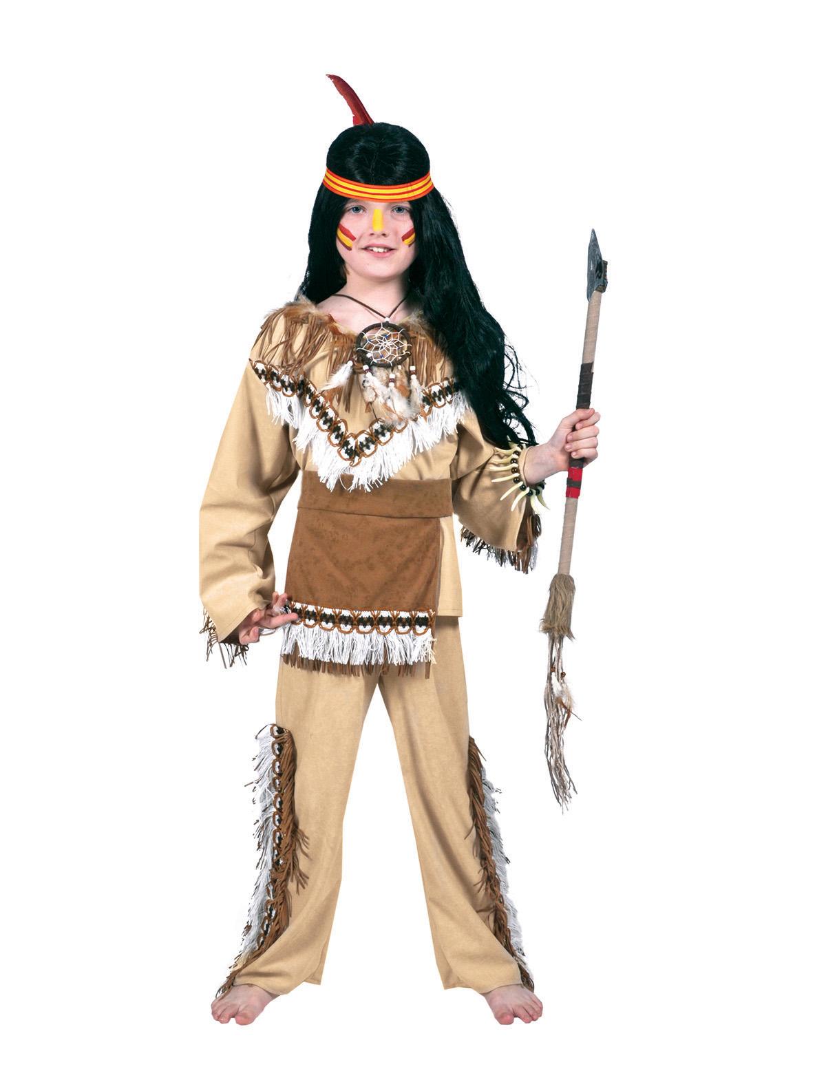 Indianer Cheyenne Kind