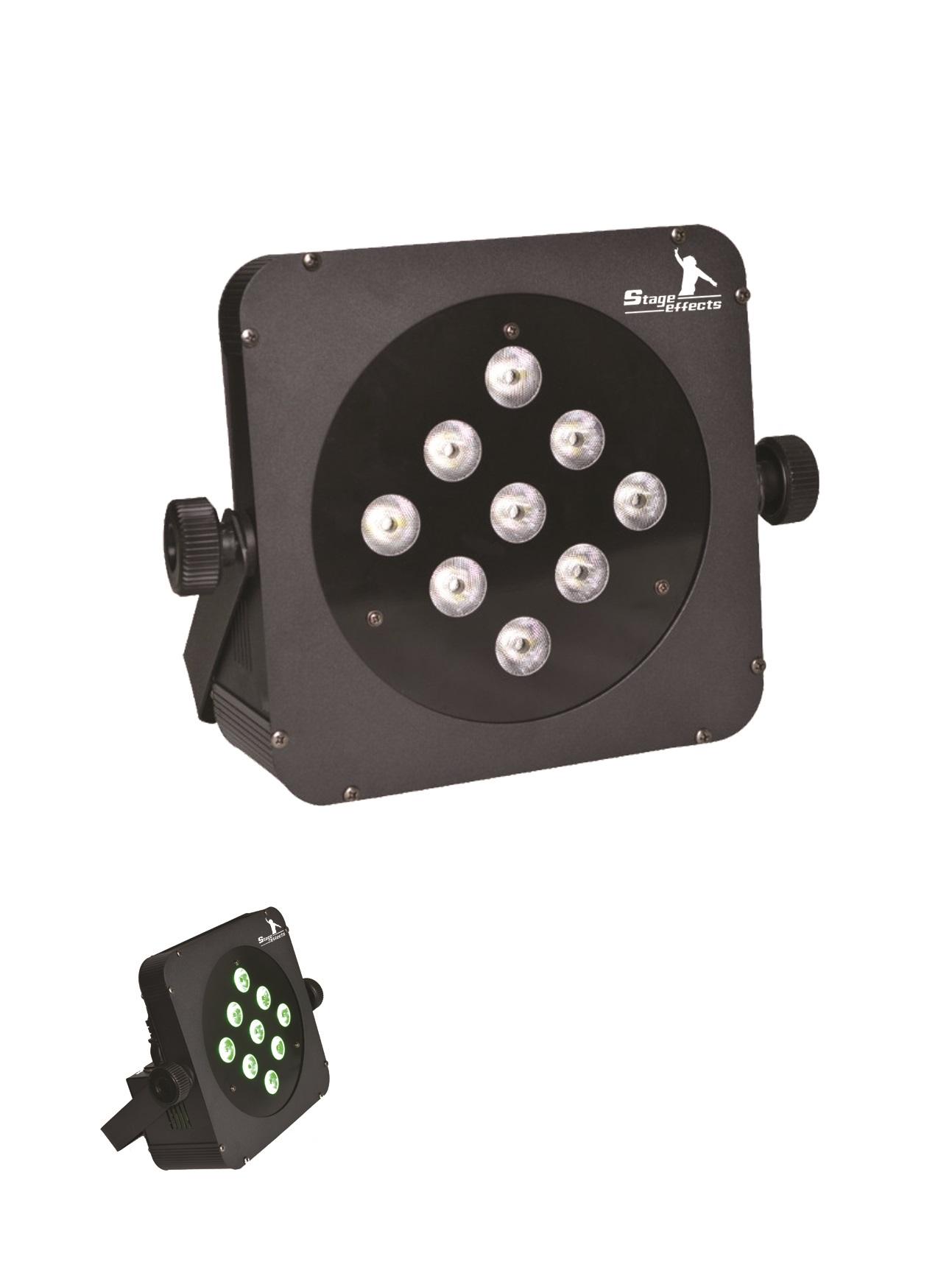 LED Strahler Flat PAR RGBW