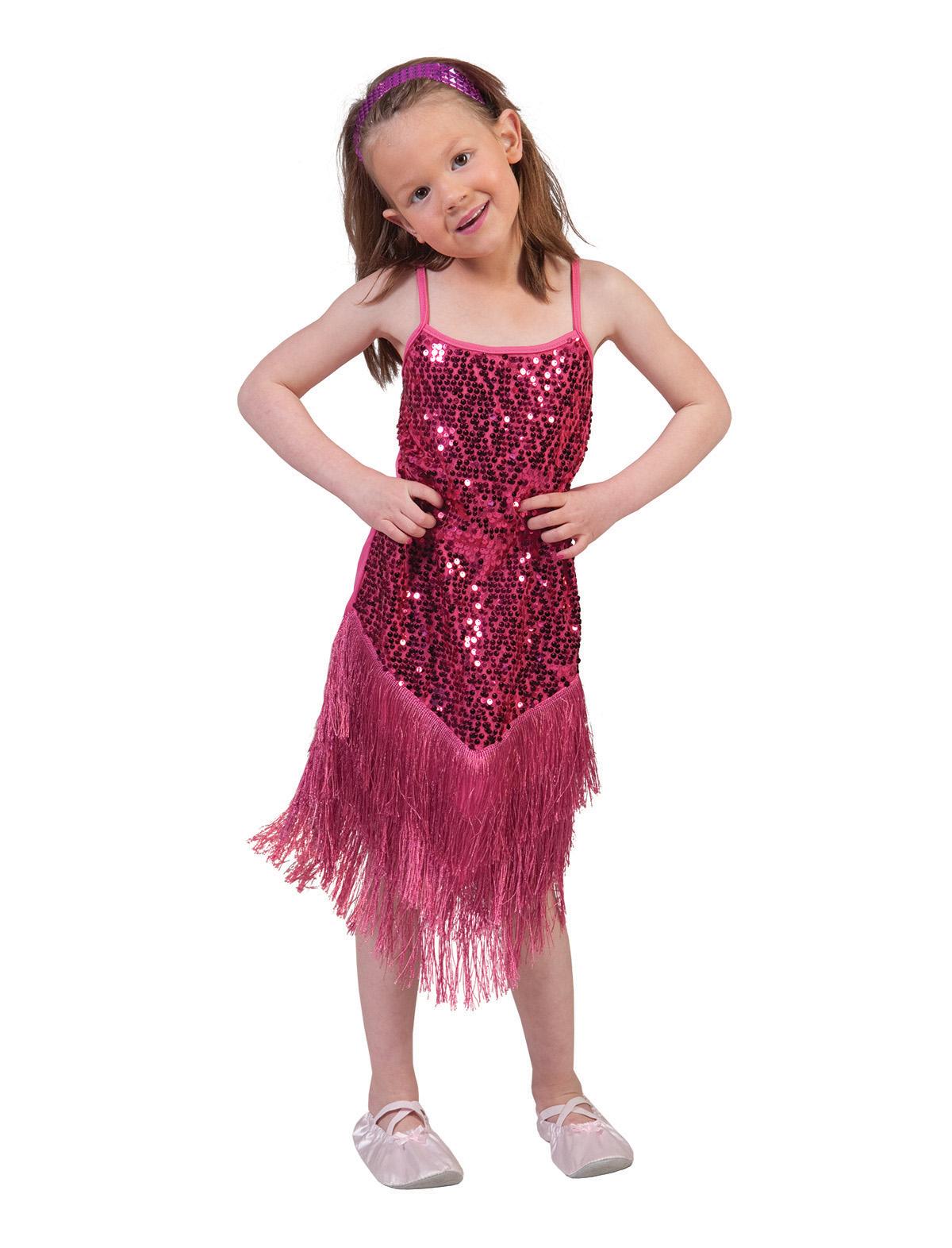 Charlestonkleid Glamour Kind pink