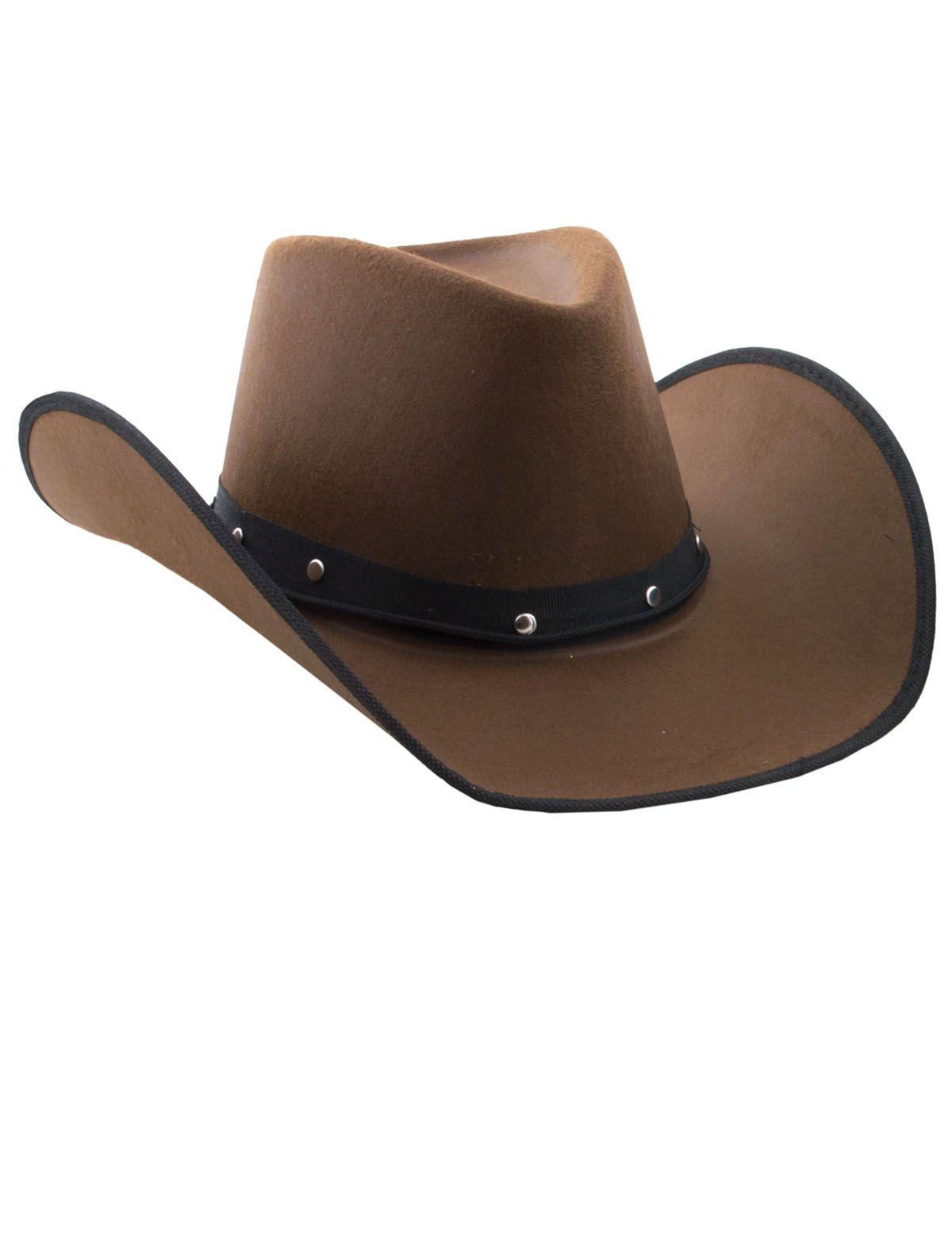 Cowboyhut Clay braun
