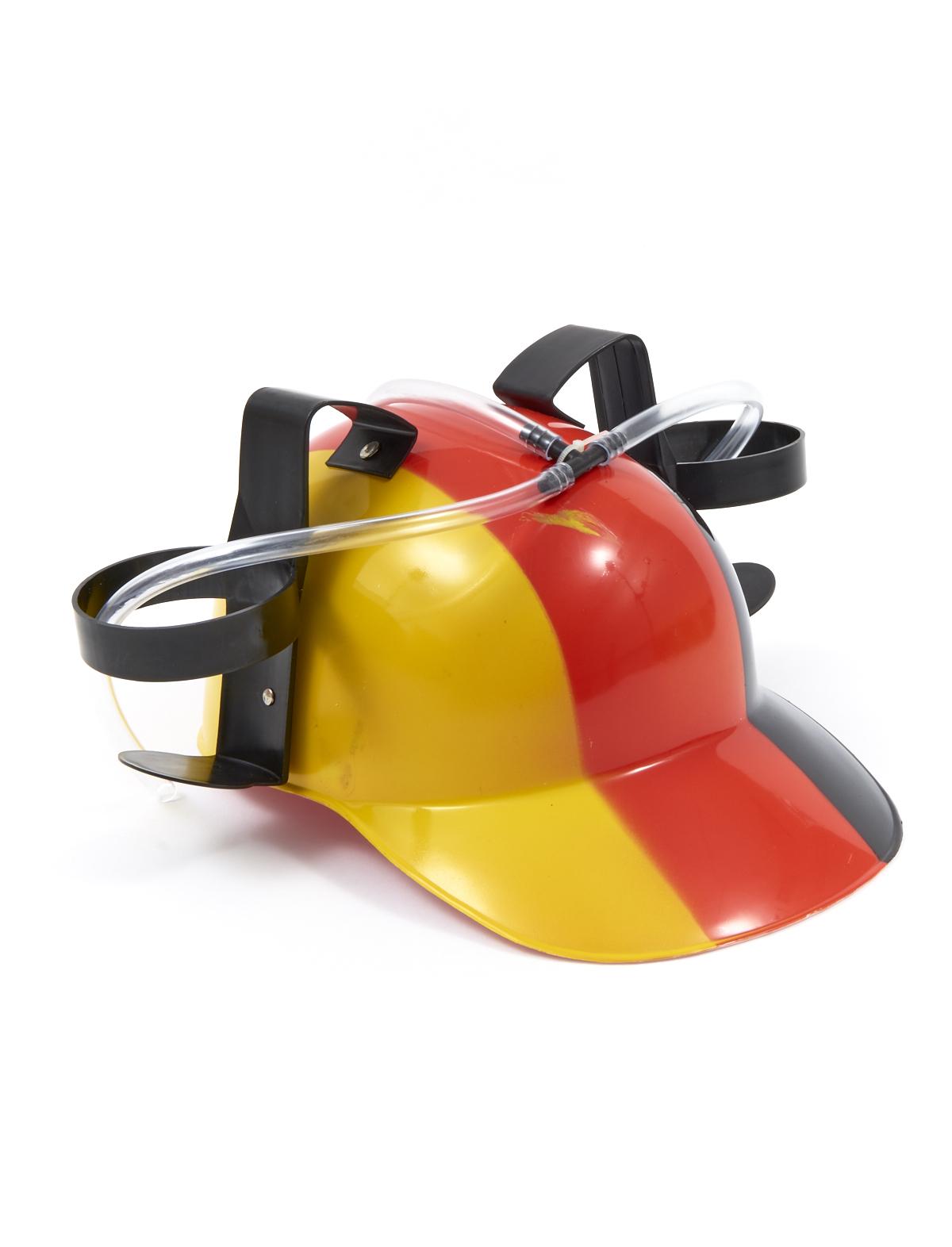 Helm Deutschland mit Trinkschlauch