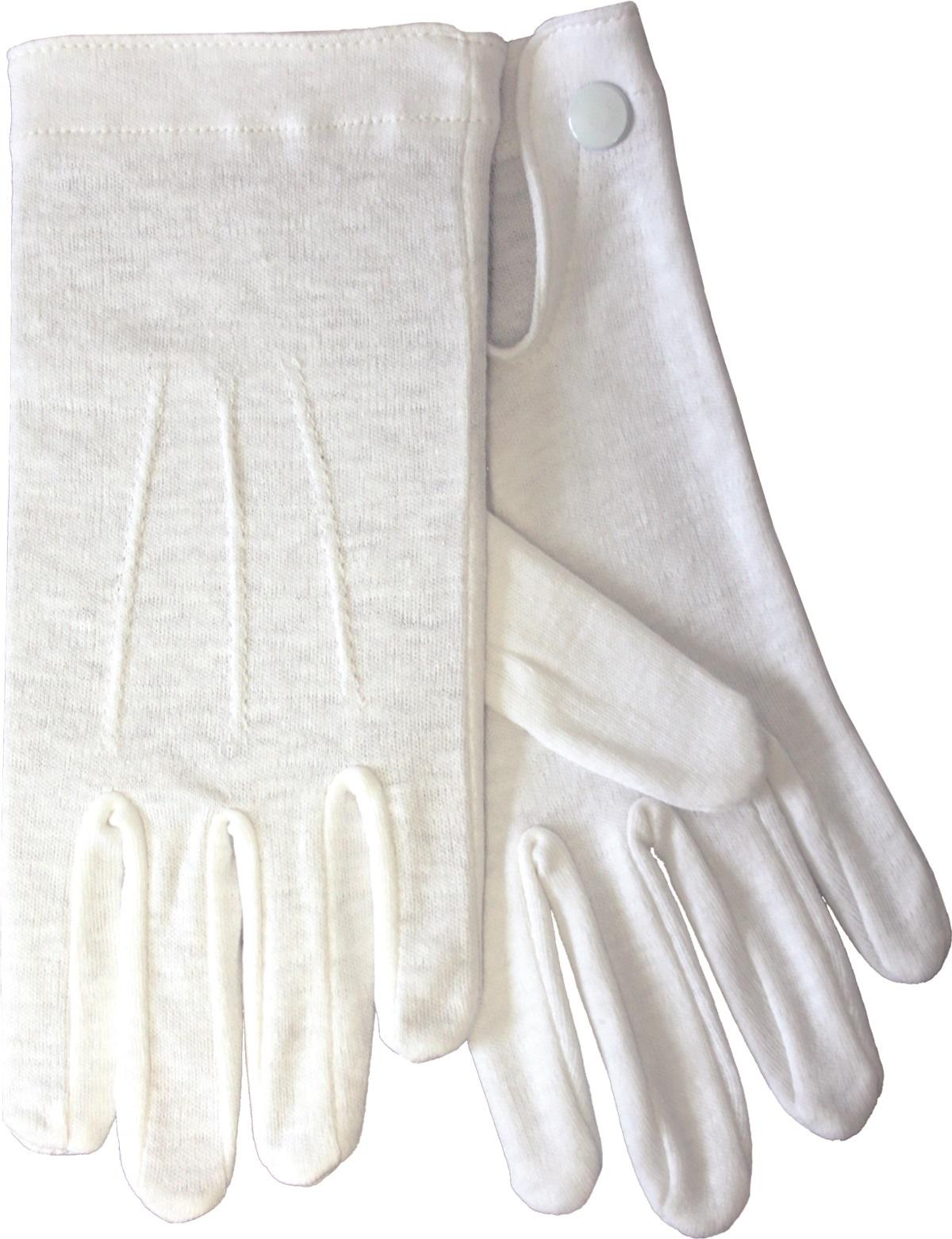 Baumwollhandschuhe weiß XL ( 10 )