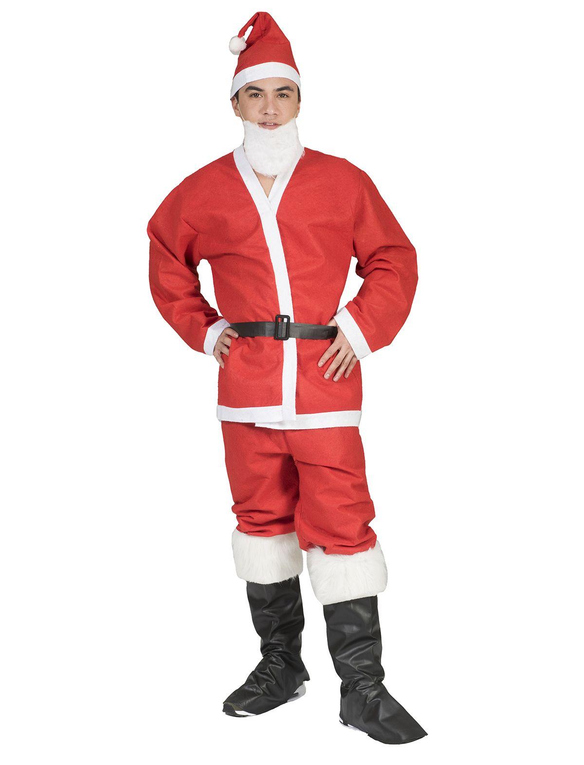 Weihnachtsmann Komplettset 5-tlg.