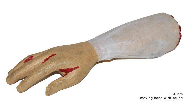 Unterarm mit Blut mit Sound und Bewegung