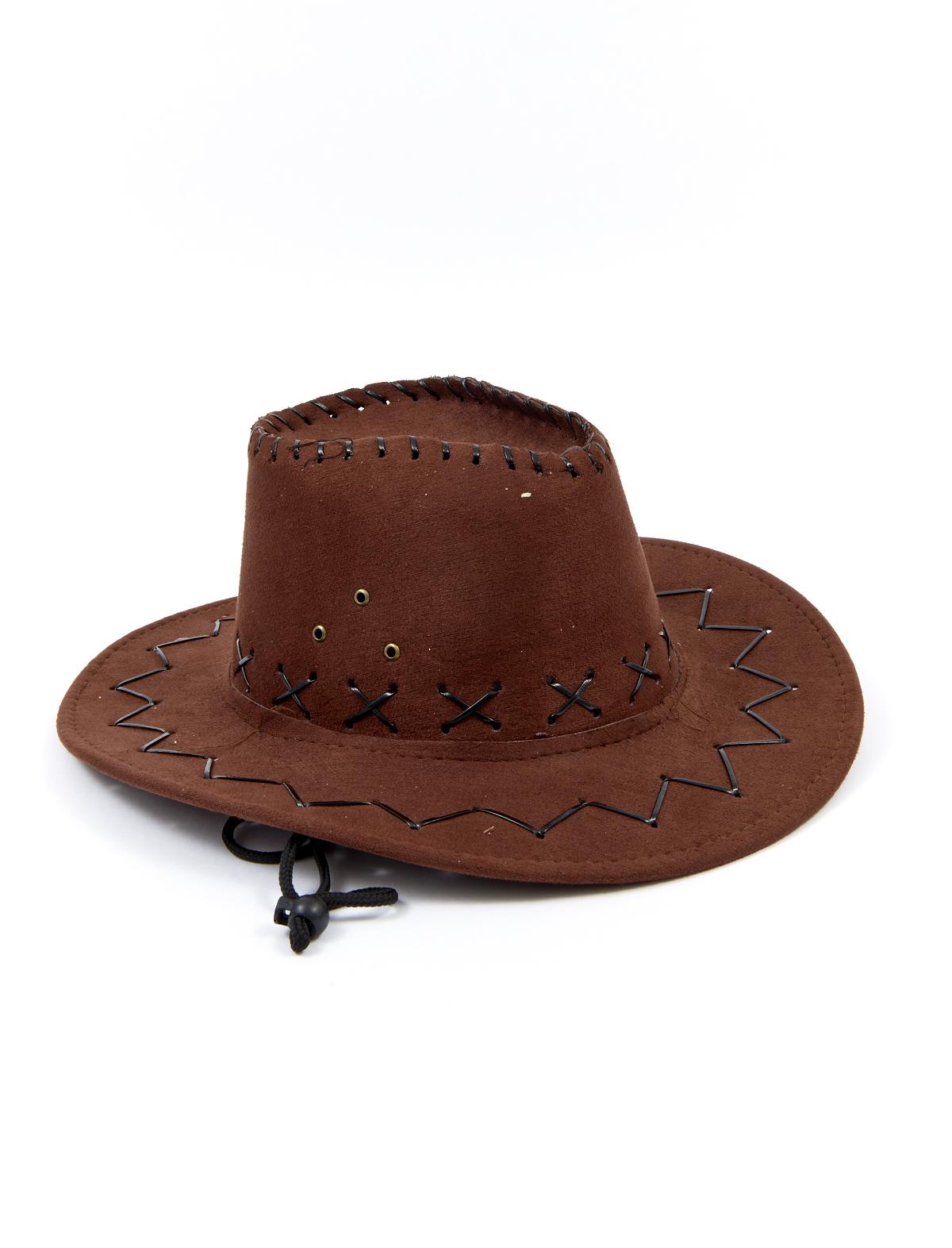 Cowboyhut Matt Kind braun