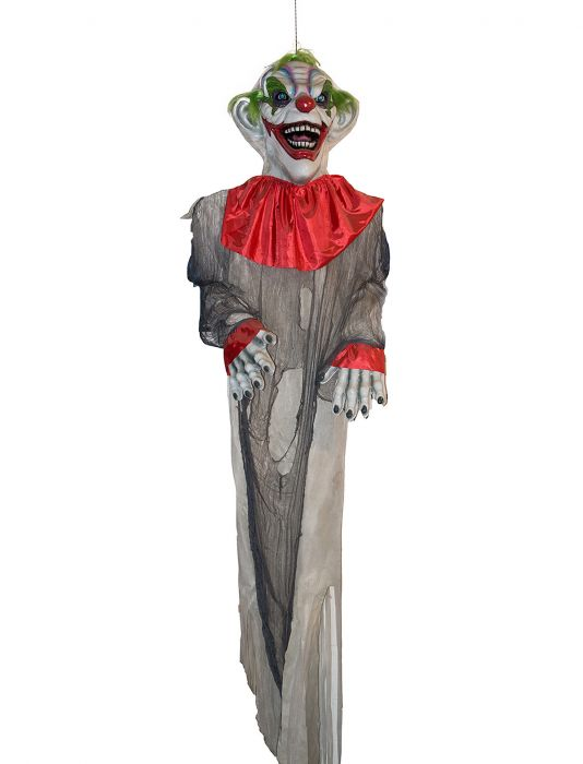 Dekopuppe Clown 360cm weiß