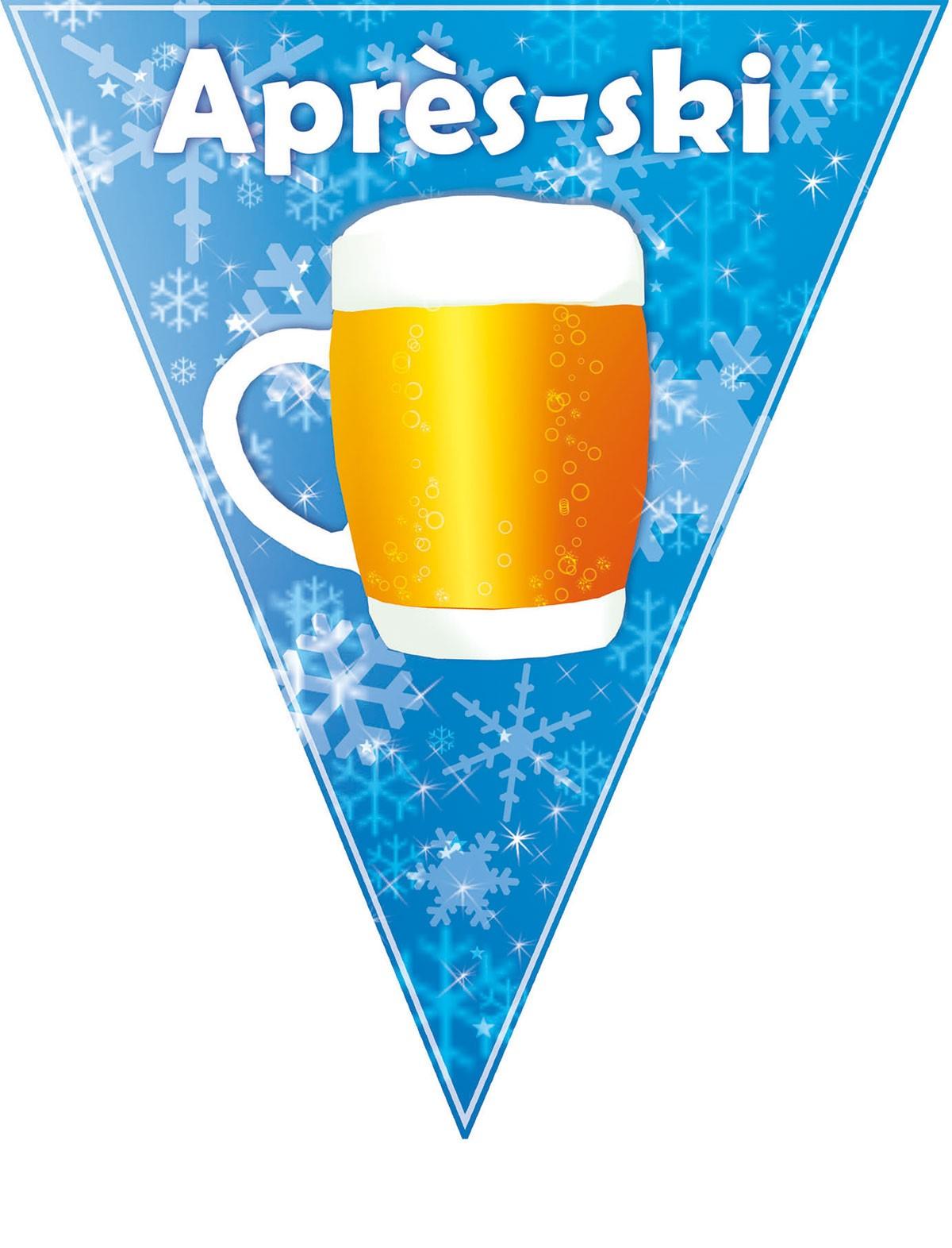 Wimpelkette Bierkrug Après-ski Oktoberfest