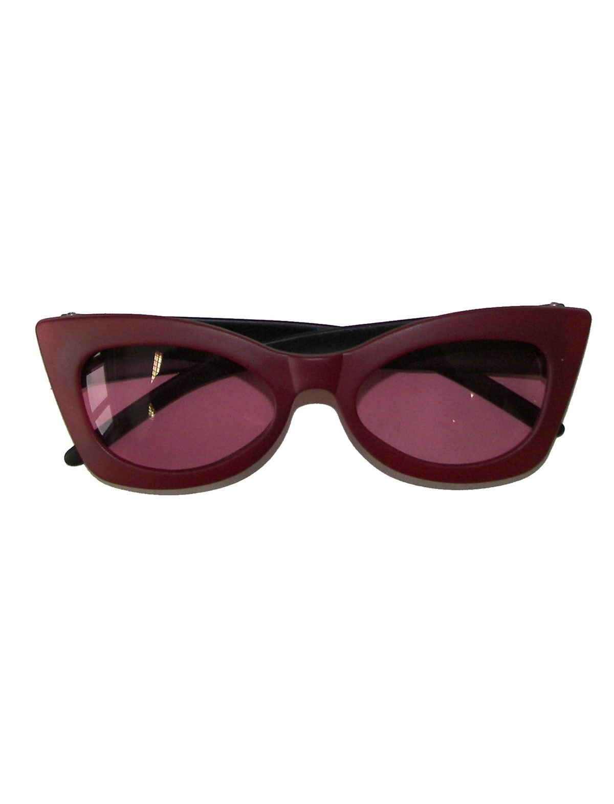Brille Funny rot