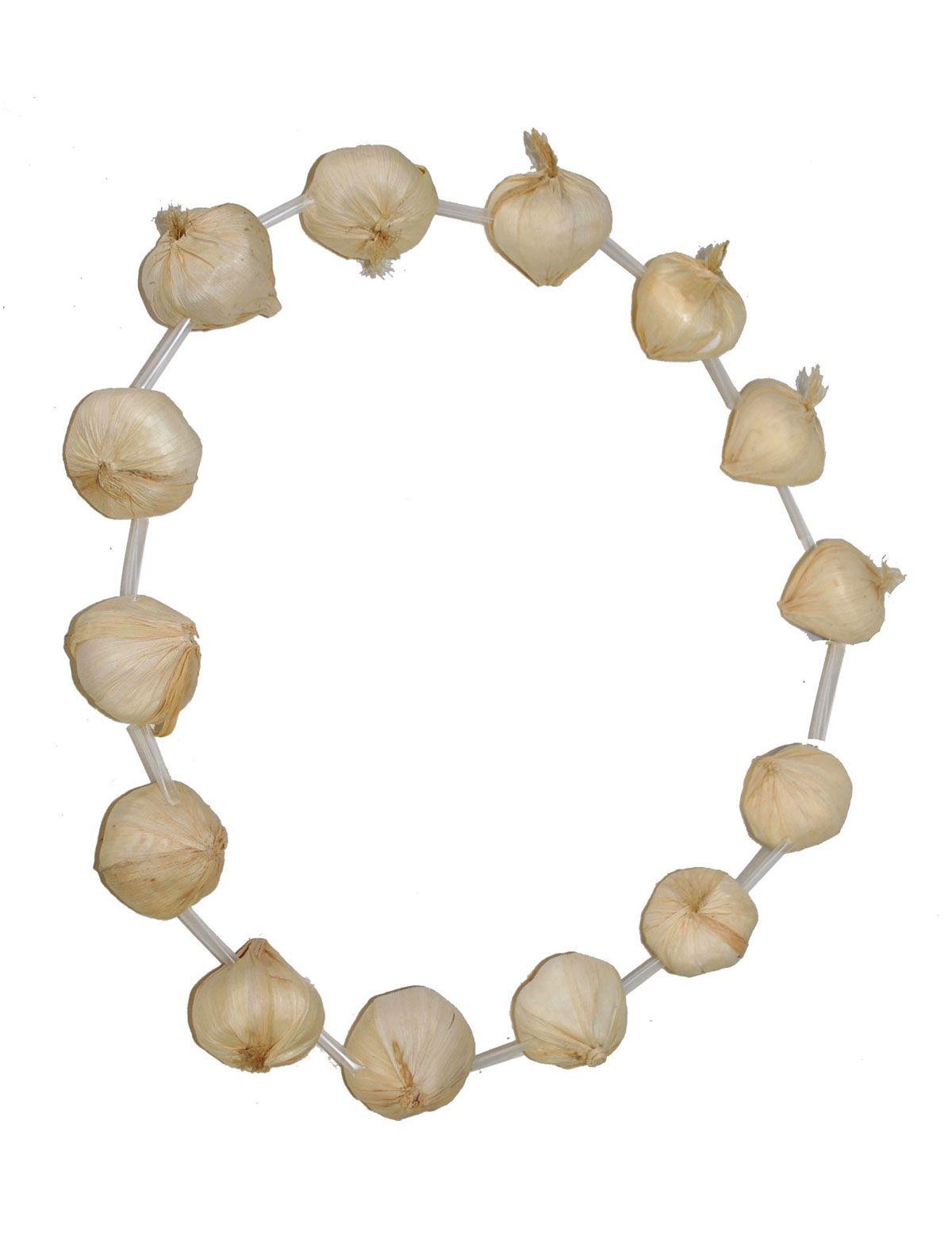 Halskette Knoblauch