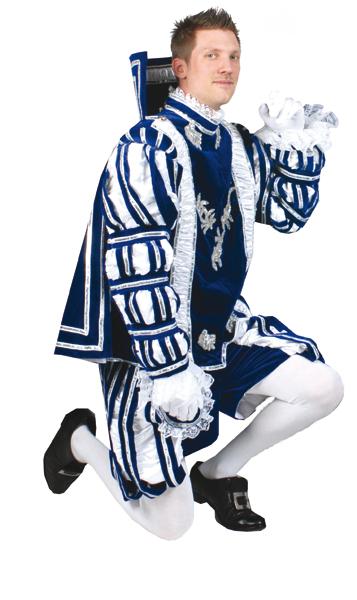 Prinz Franz blau