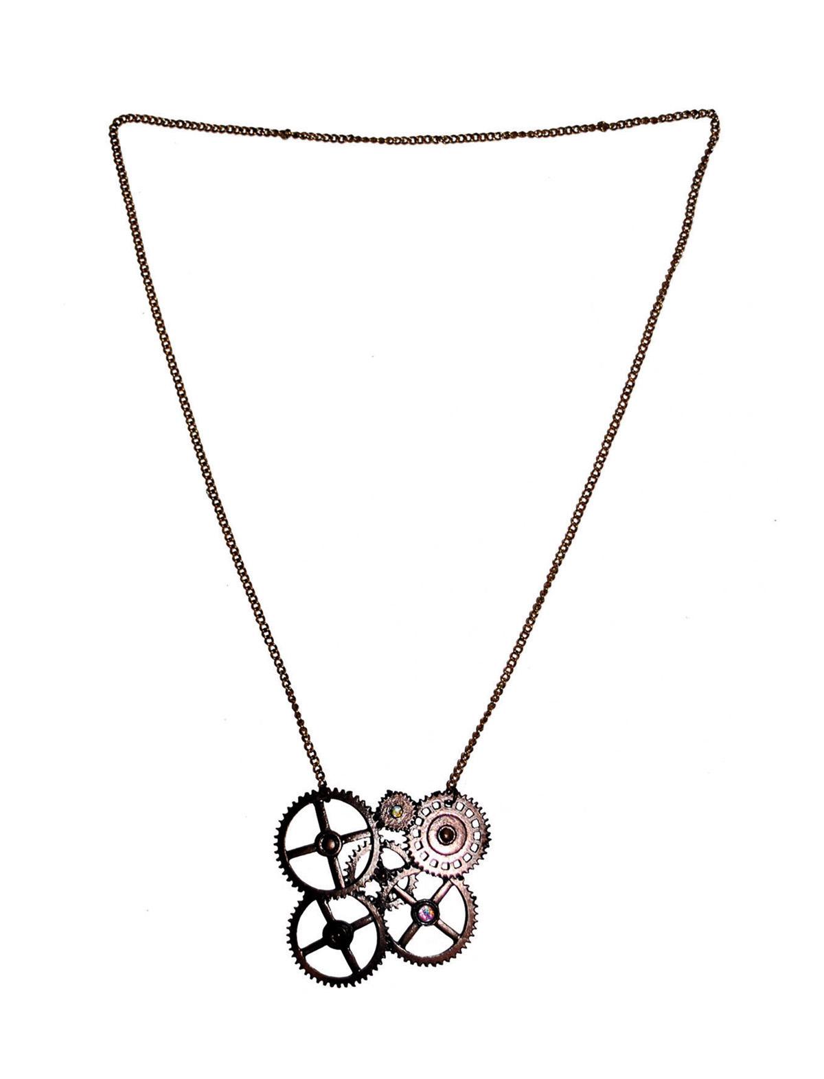 Halskette Steampunk
