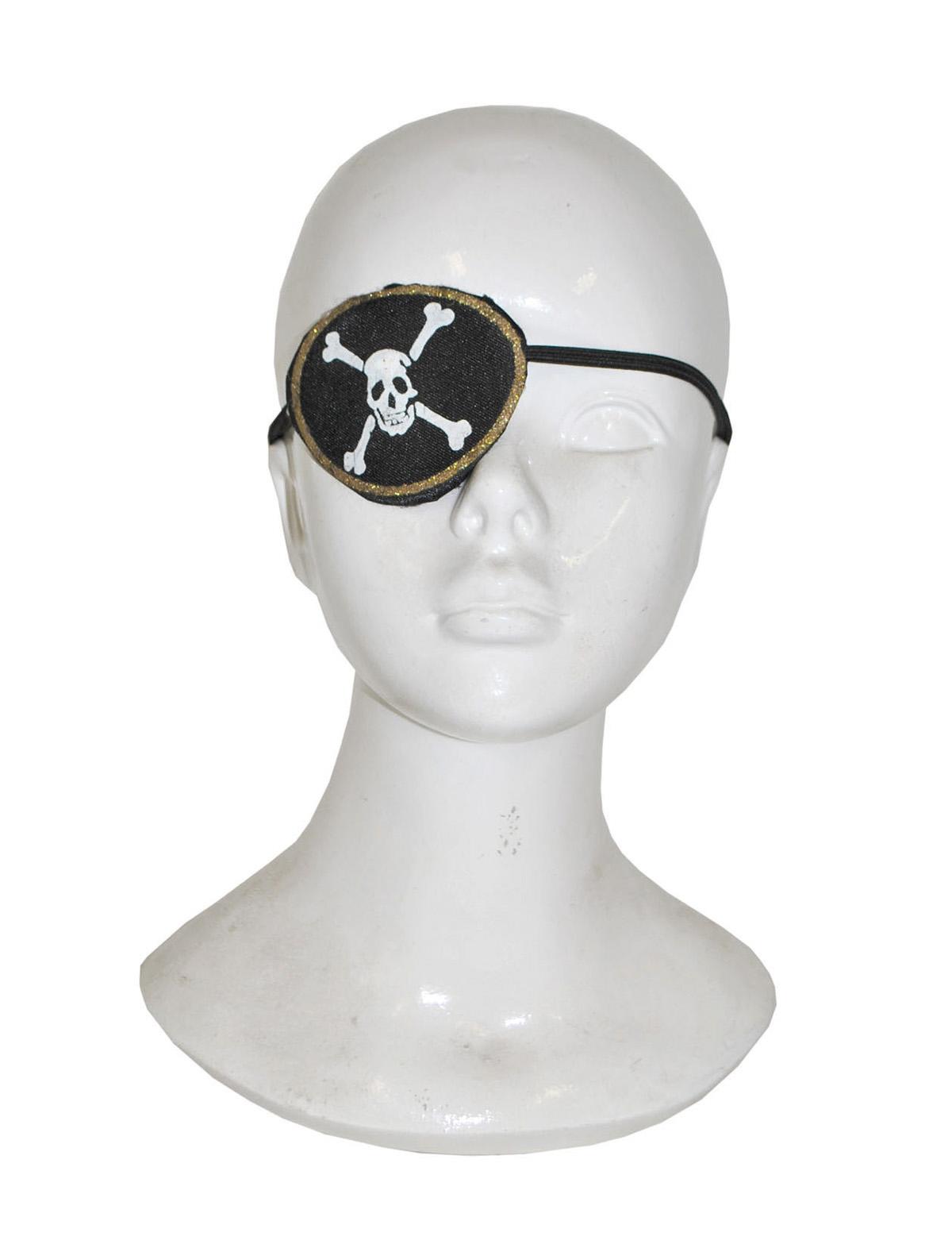 Augenklappe Totenkopf