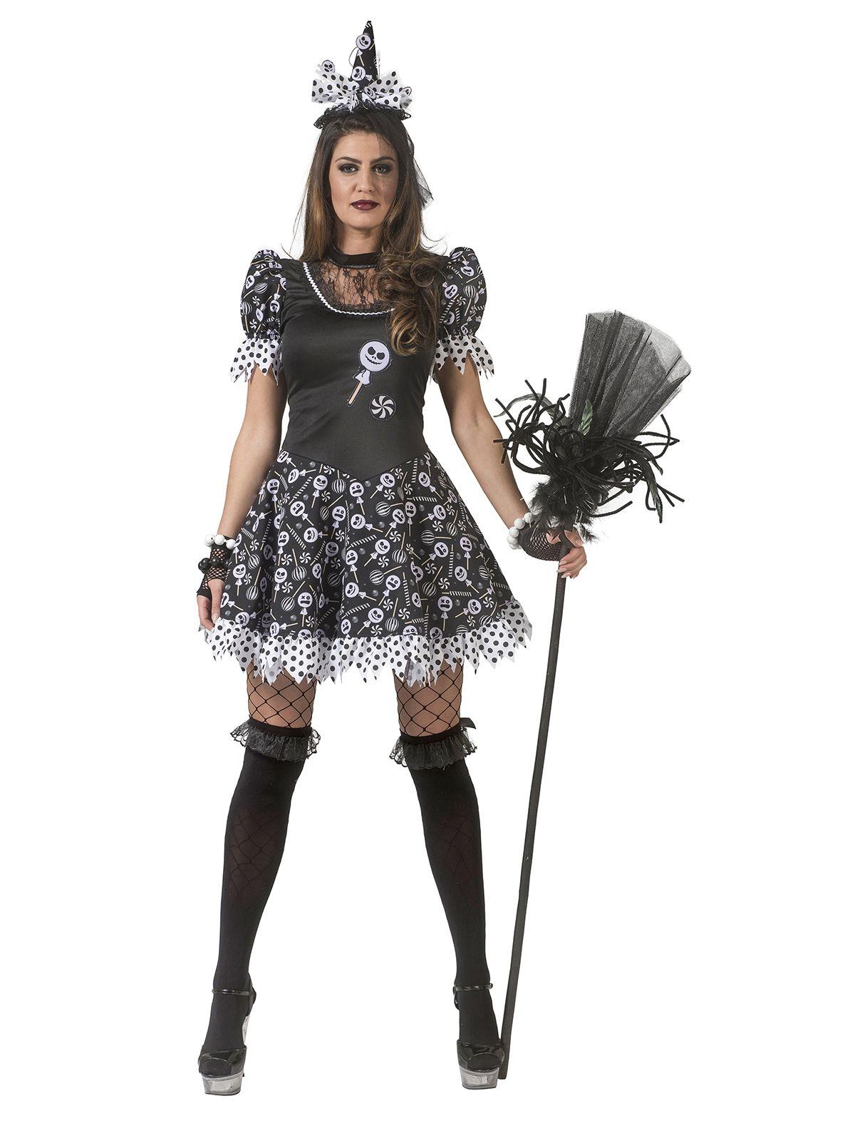 Kleid Hexe Candy