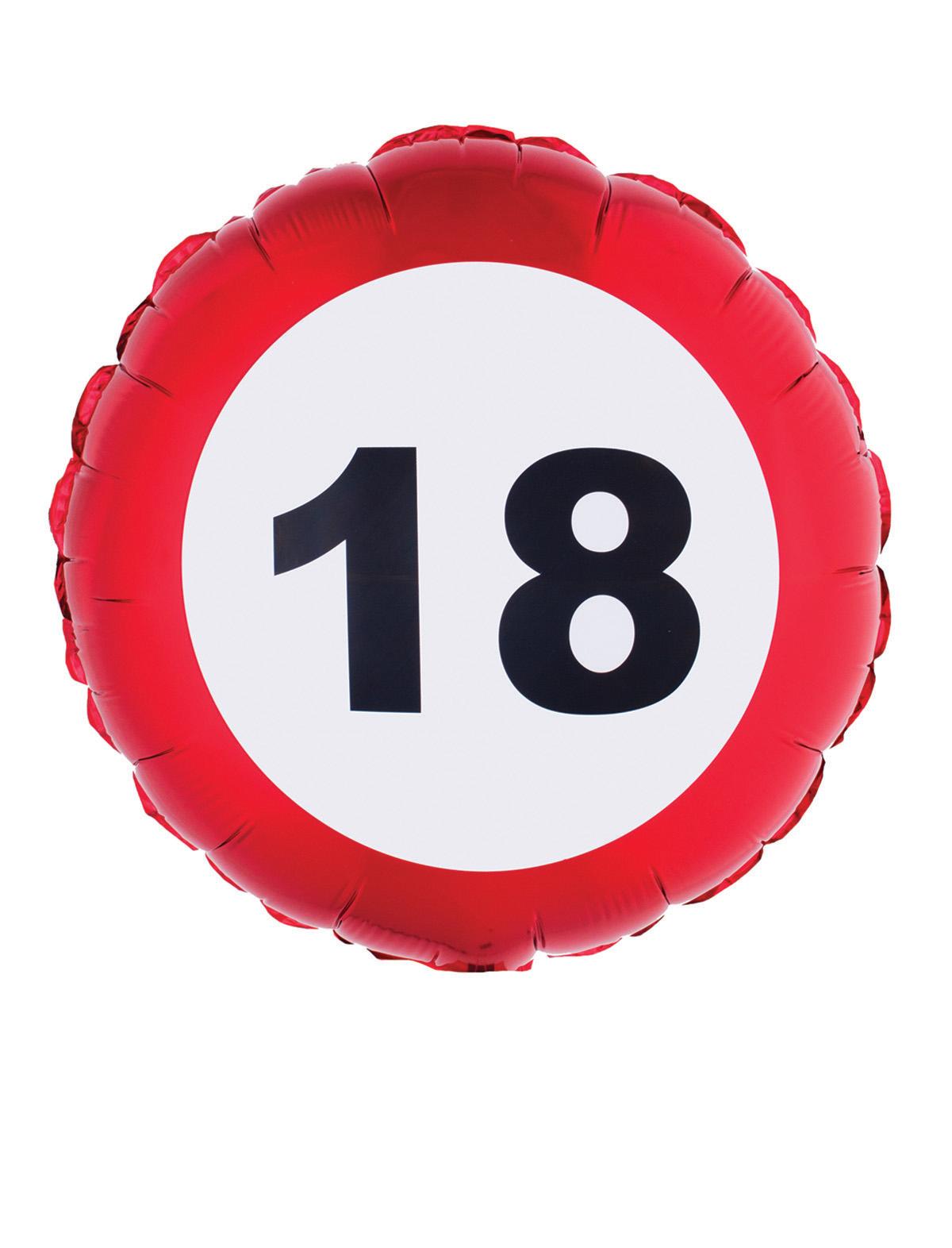 Folienballon Geburtstag 18-80 Geburtstag 18