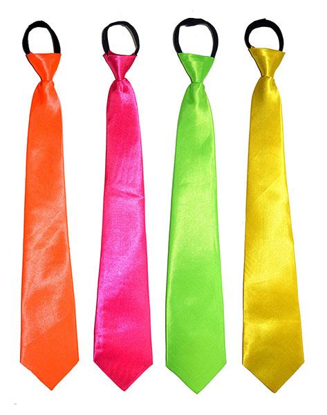 Krawatte neon