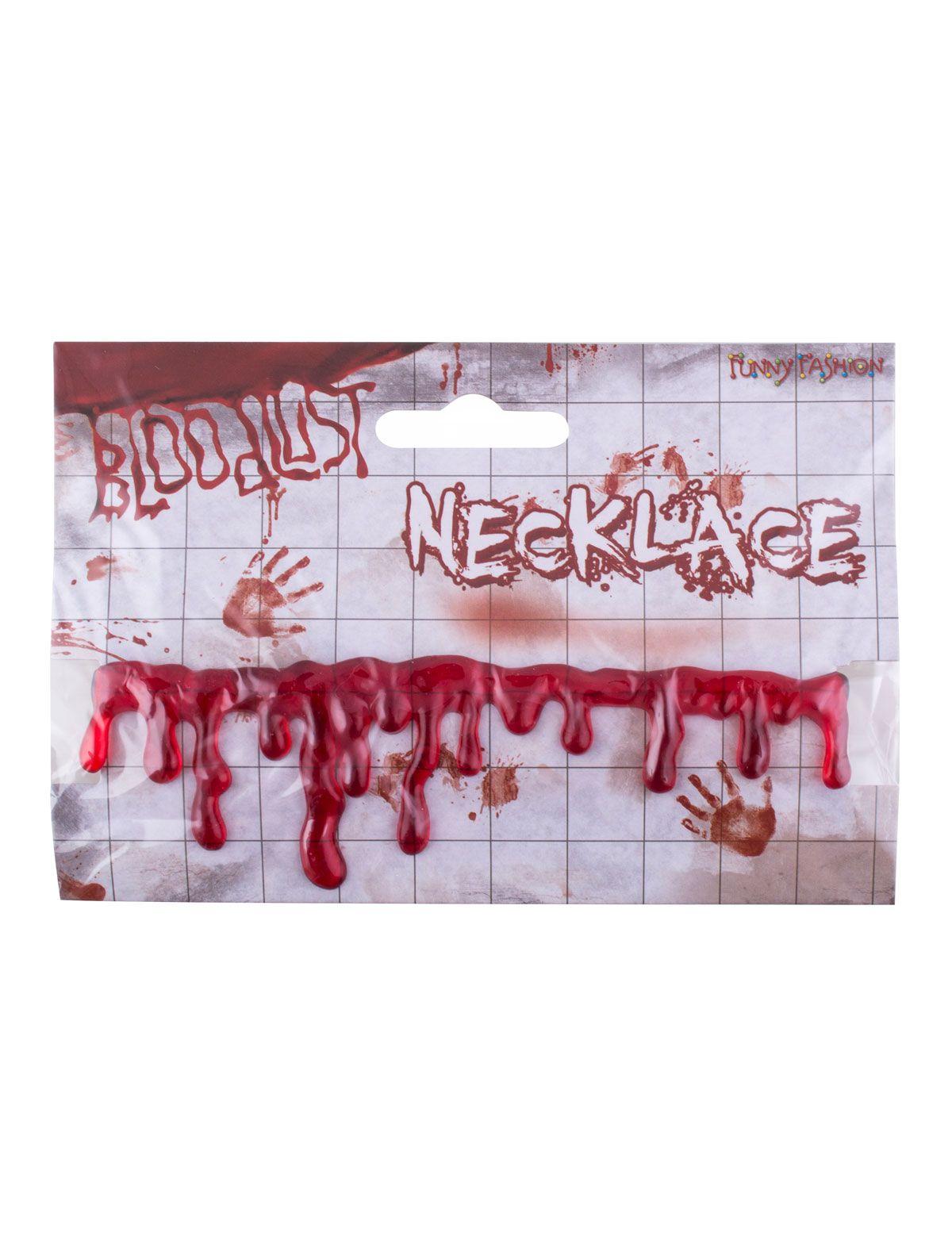 Halskette Blut