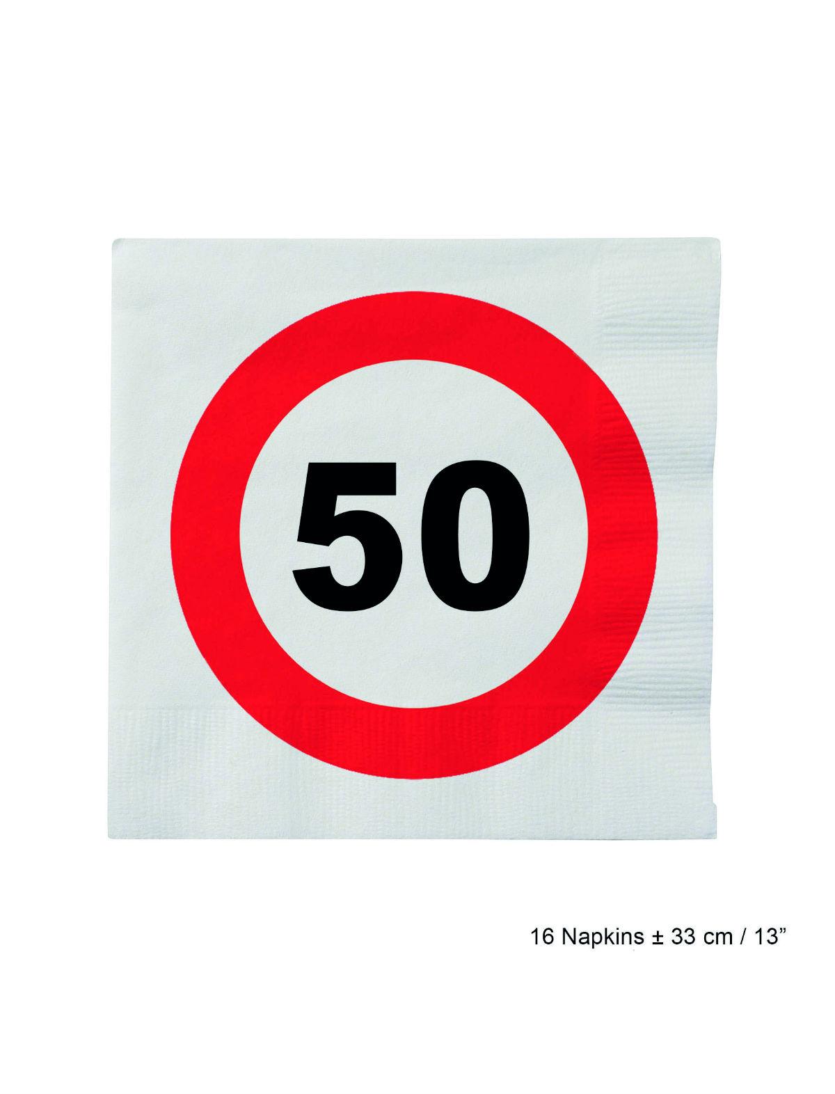 Servietten Geburtstag 50 Jahre