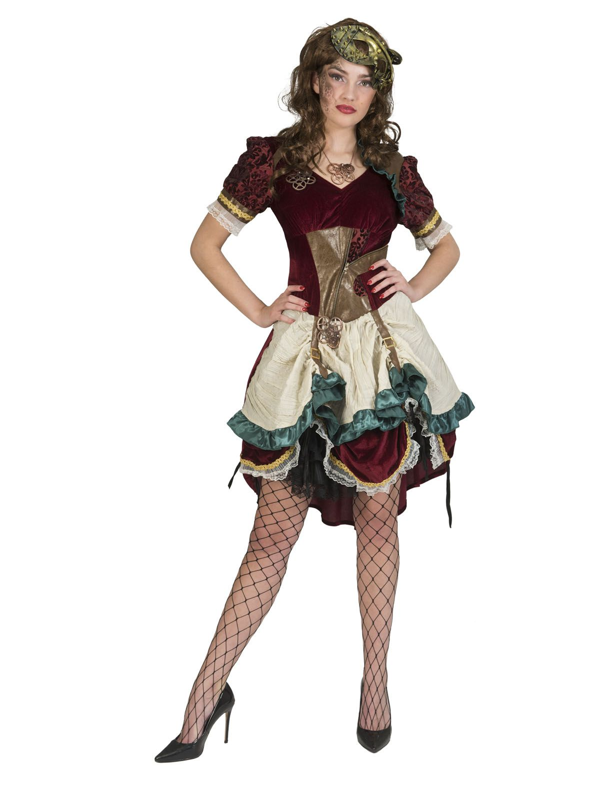 Steampunk Dame Rose