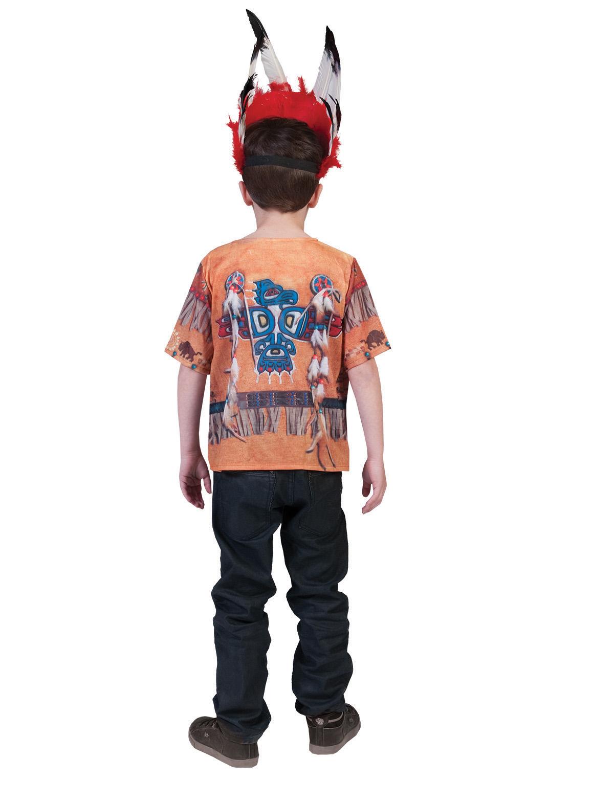 3D-Shirt Indianer Kind