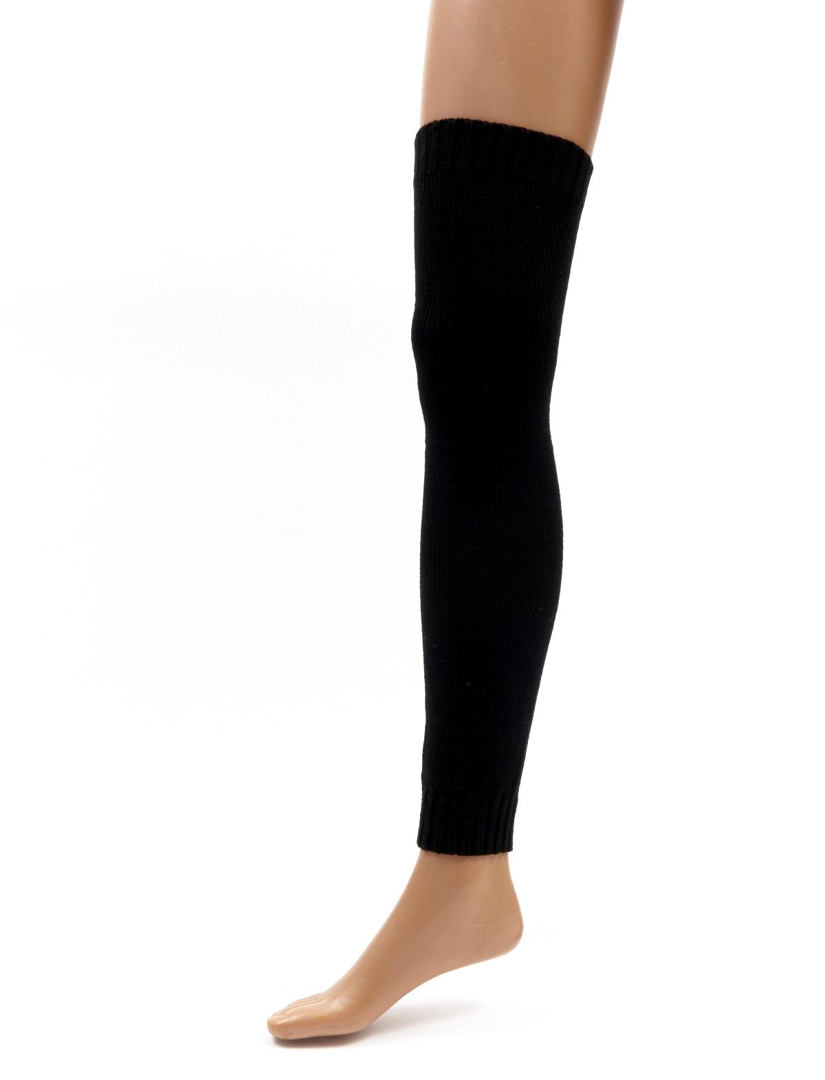 Beinwärmer 65 cm schwarz