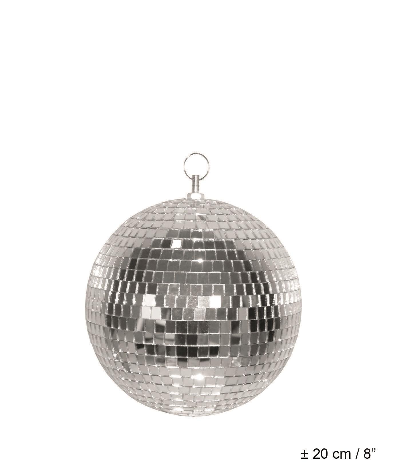 Discokugel - Silber - 20 cm