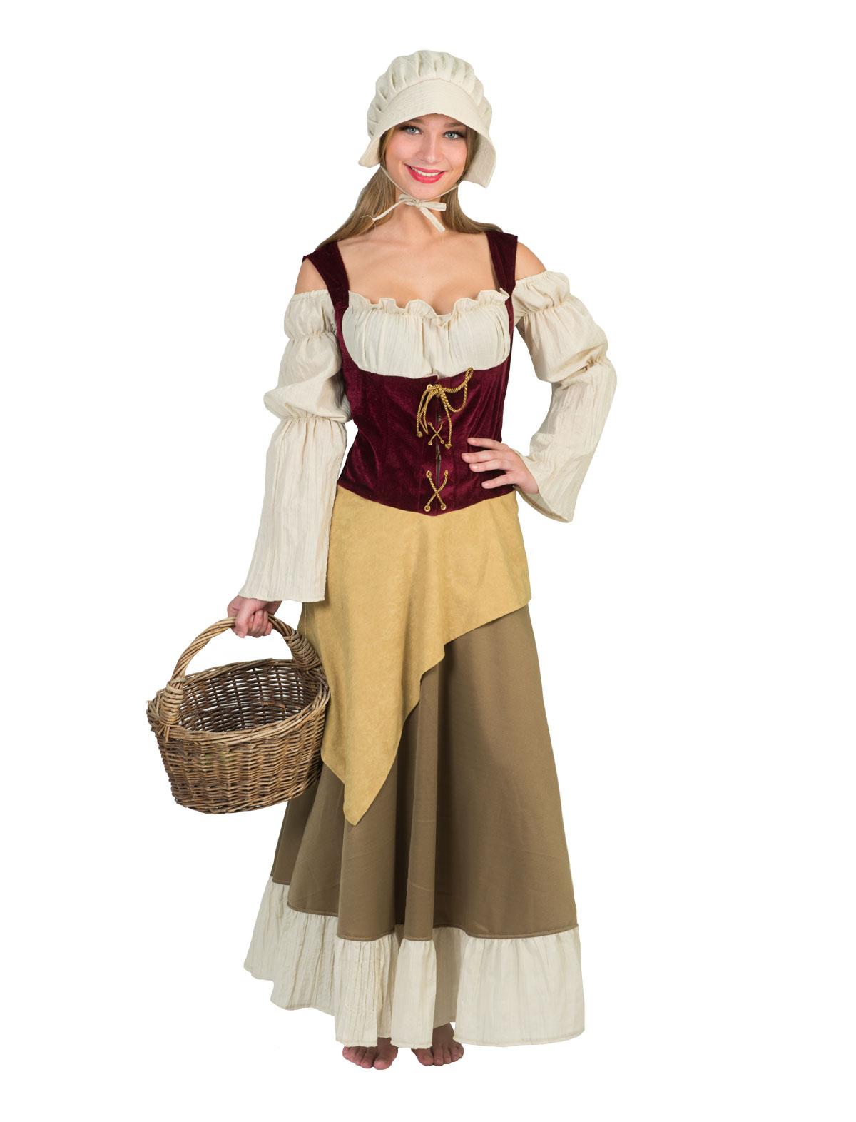 Kostüm Kleid Maid Marie