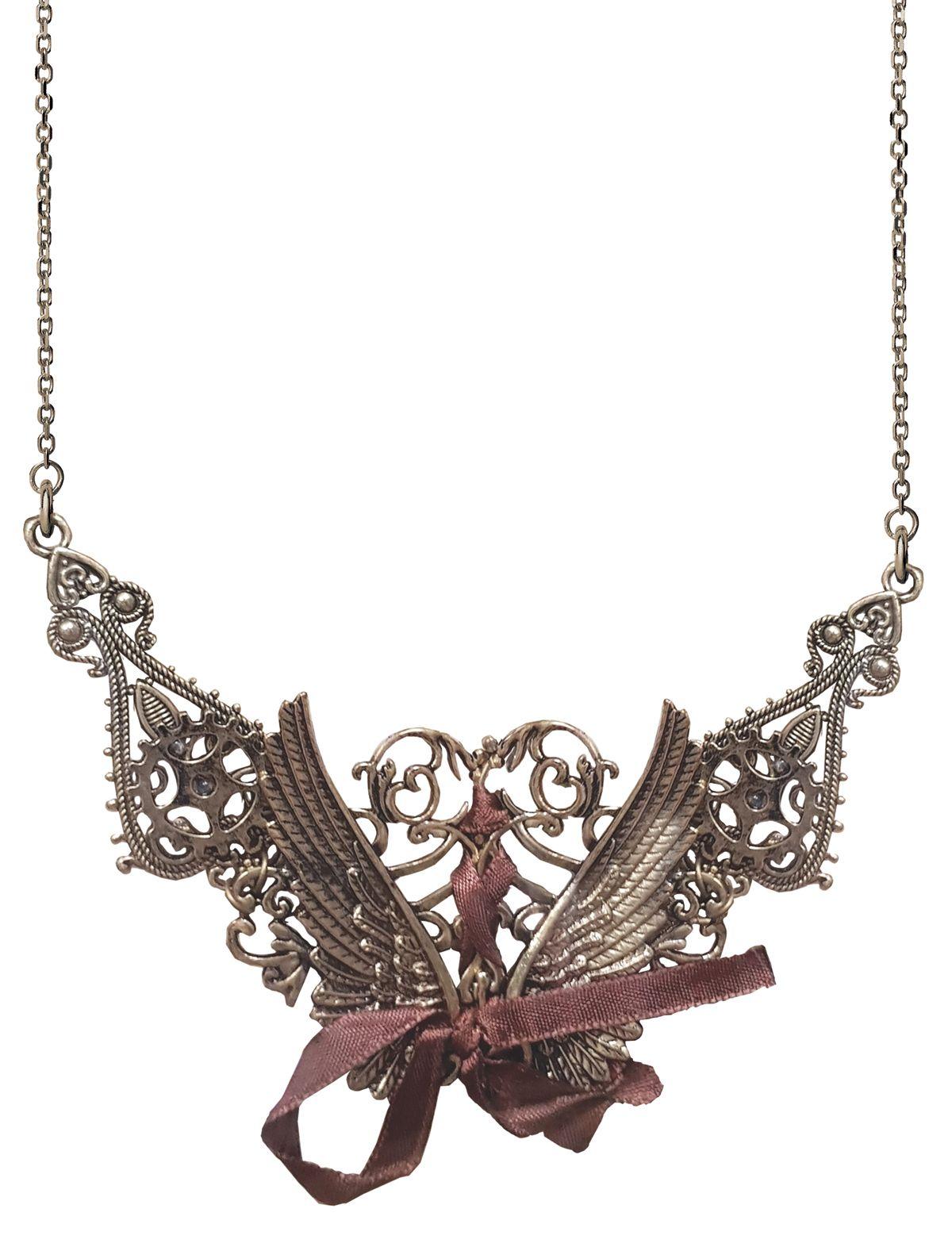 Halskette Steampunk Flügel