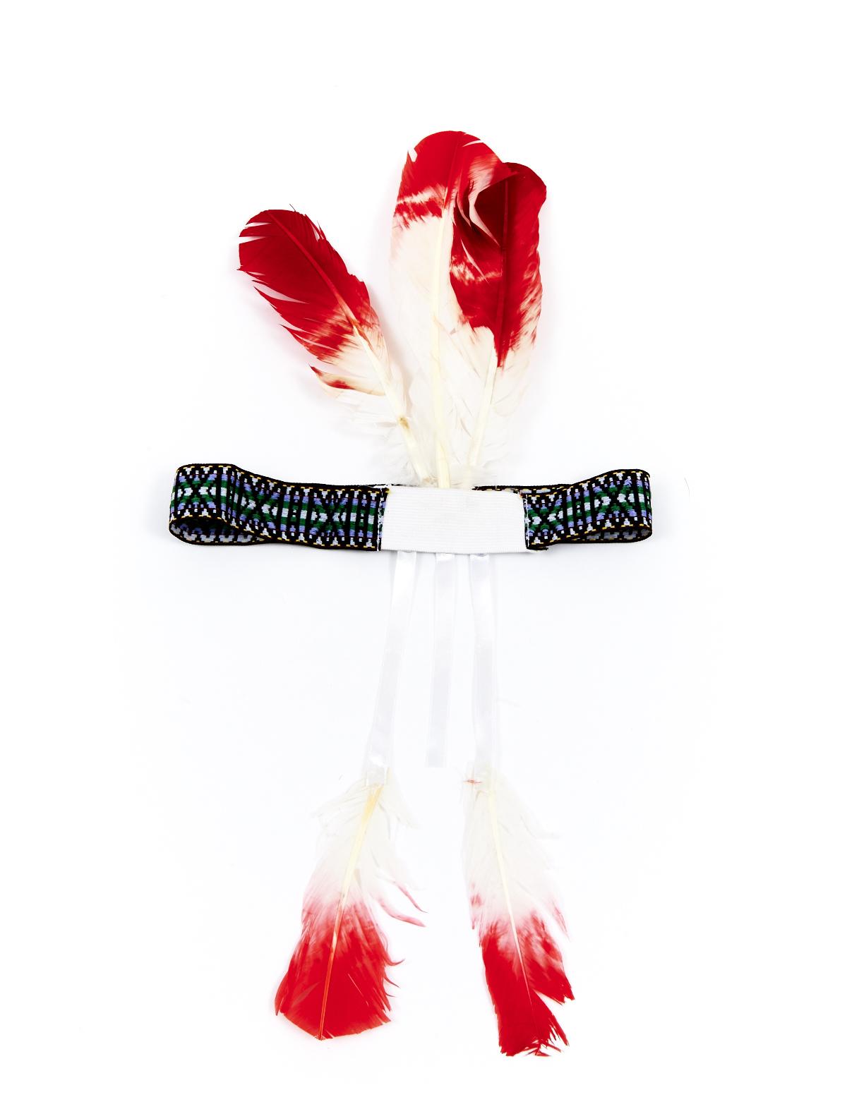 Stirnband Sioux mit Federn