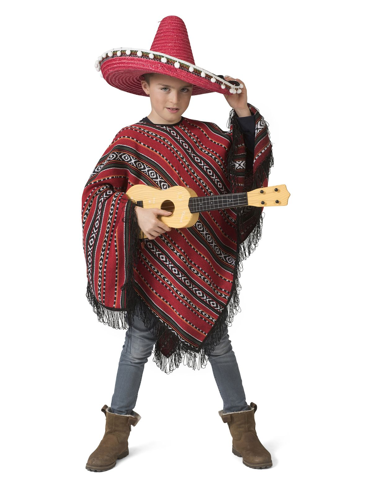 Mexican Poncho Milan Kind