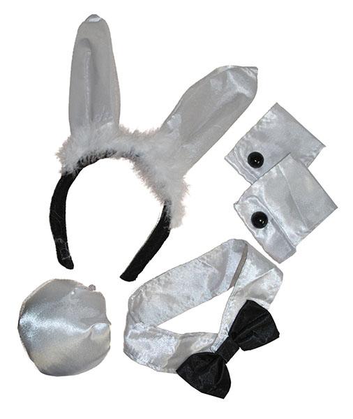 Bunny Set schwarz-weiß