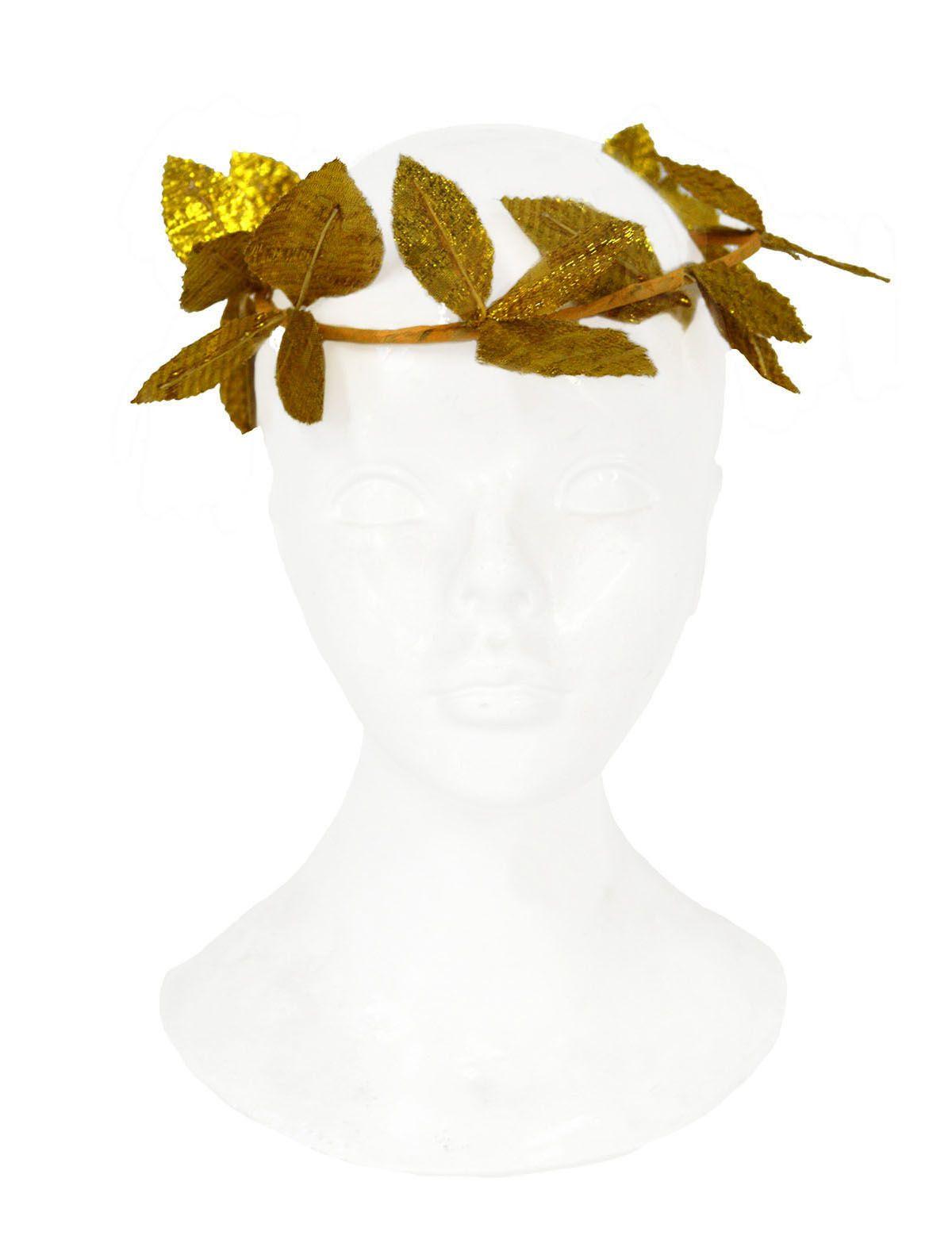 Blätterkrone gold Cesar