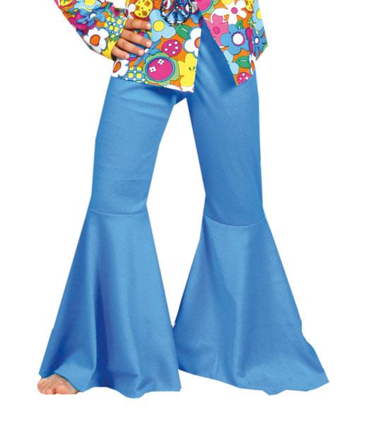 Hose Hippie Kind sortiert blau