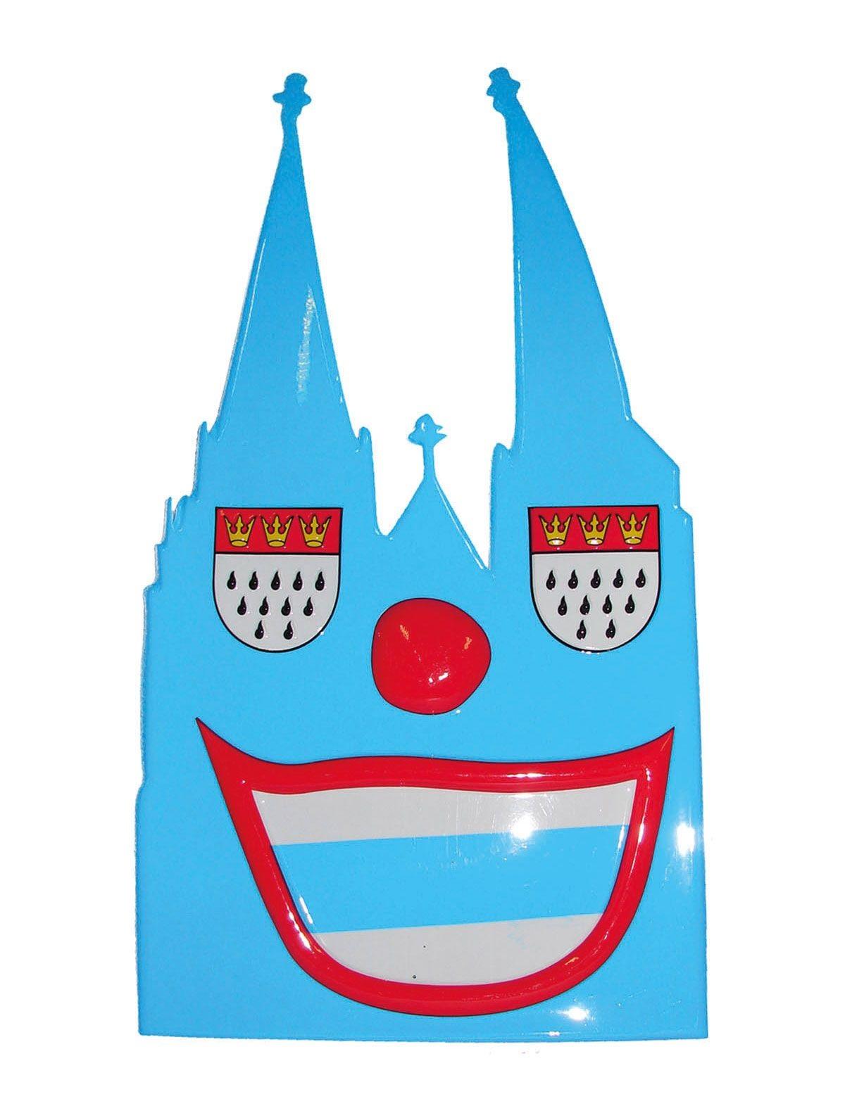Karnevalsparty Wanddeko Köln 25 cm