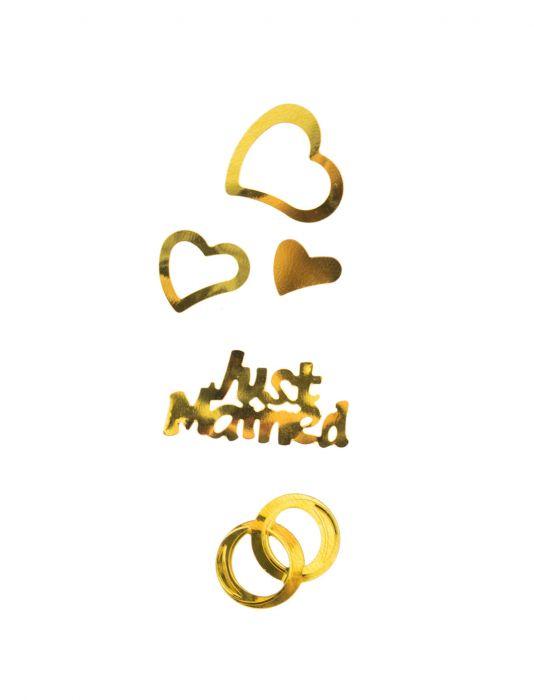 Konfetti Wedding gold