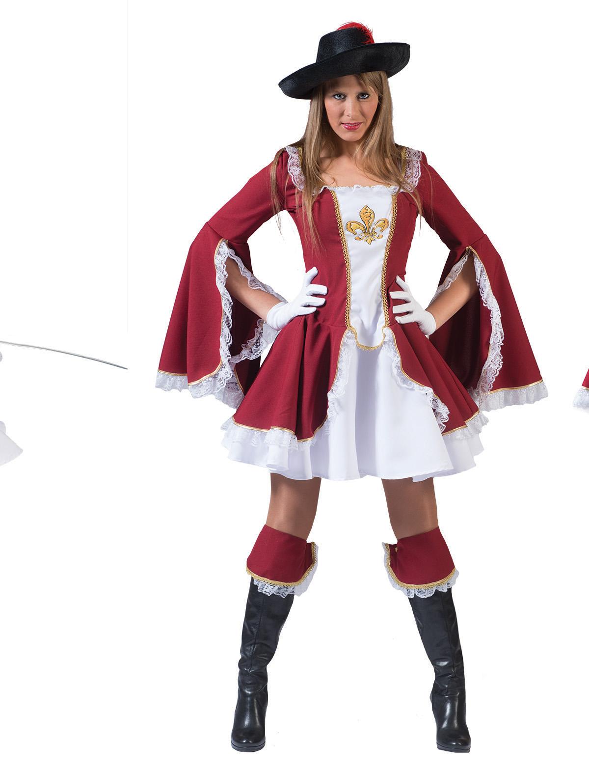 Musketier Dame Adelais