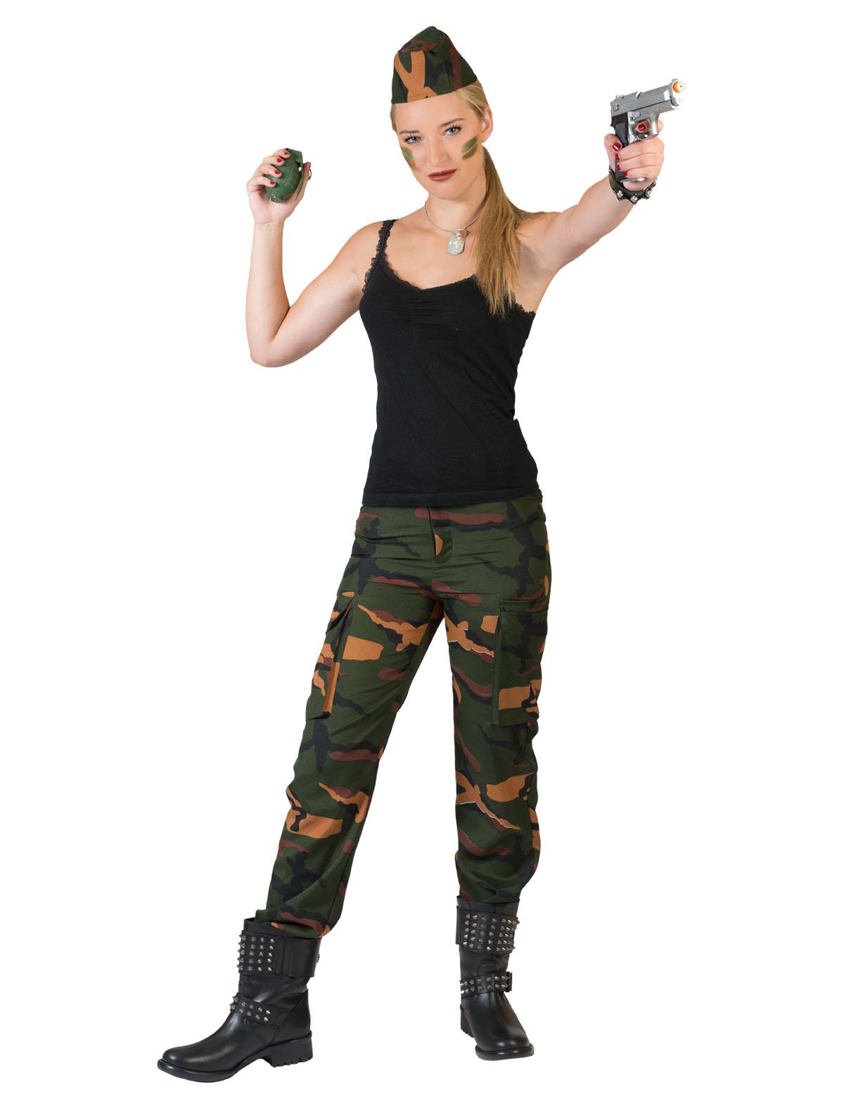 Hose Military Damen