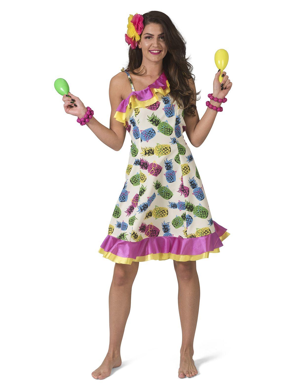 Hawaii Kleid Ananas