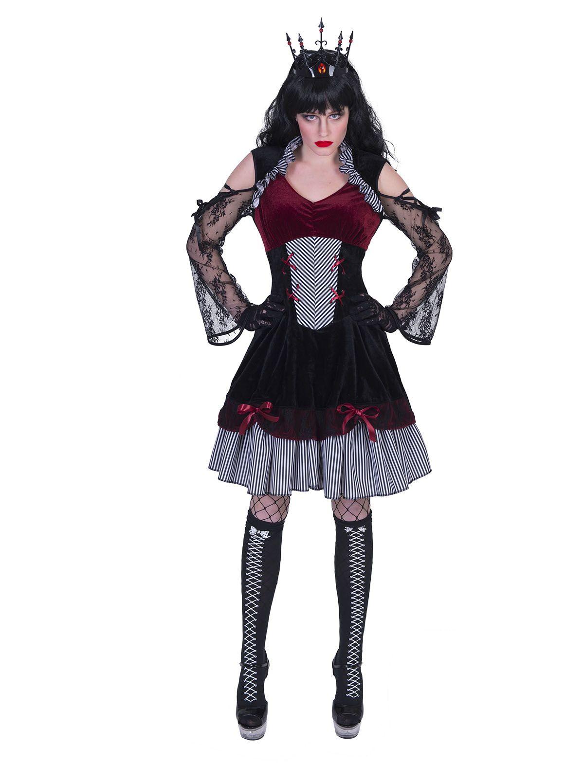 Gothic Ghiya Damenkleid
