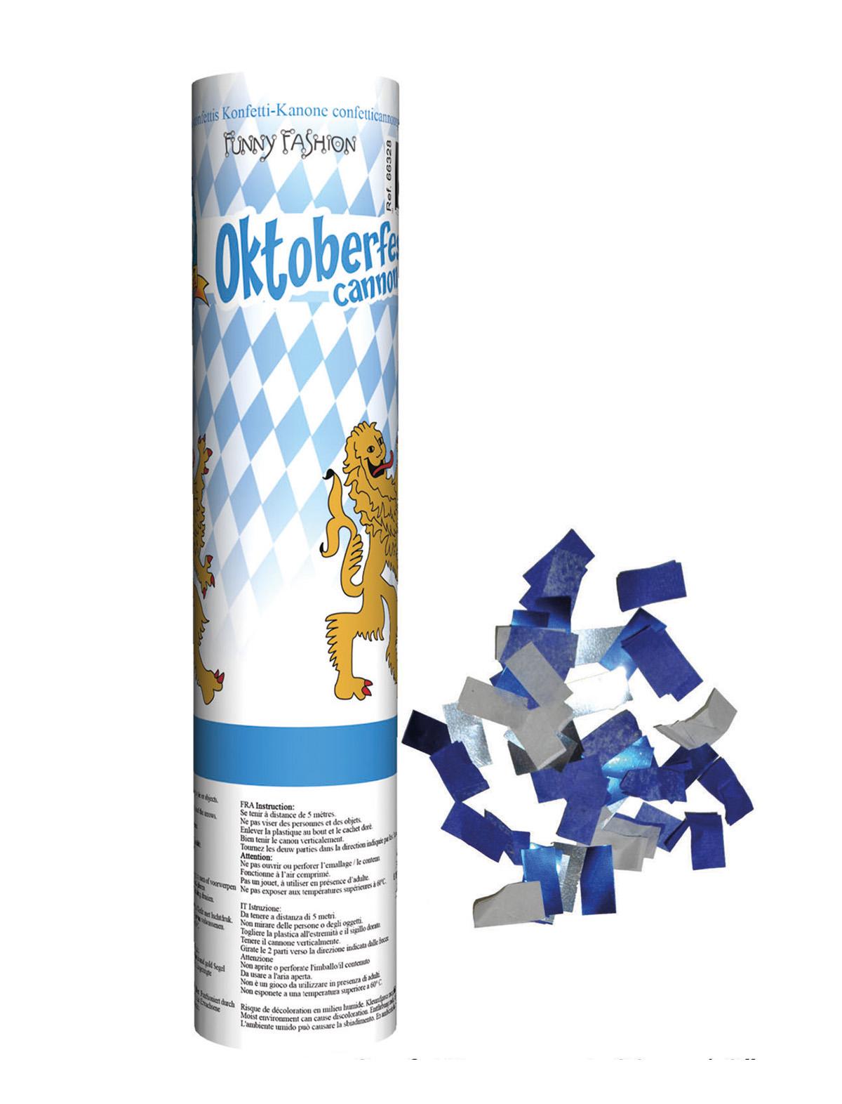 Konfetti Kanone Oktoberfest 20 cm
