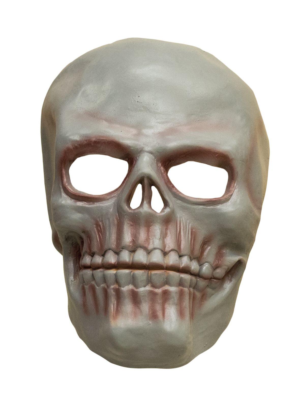 Latexmaske Totenkopf