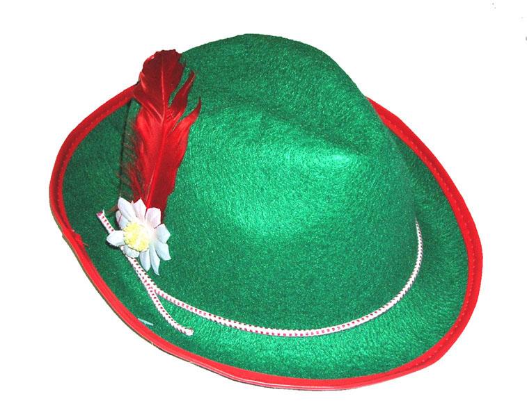 Tirolerhut grün Kind