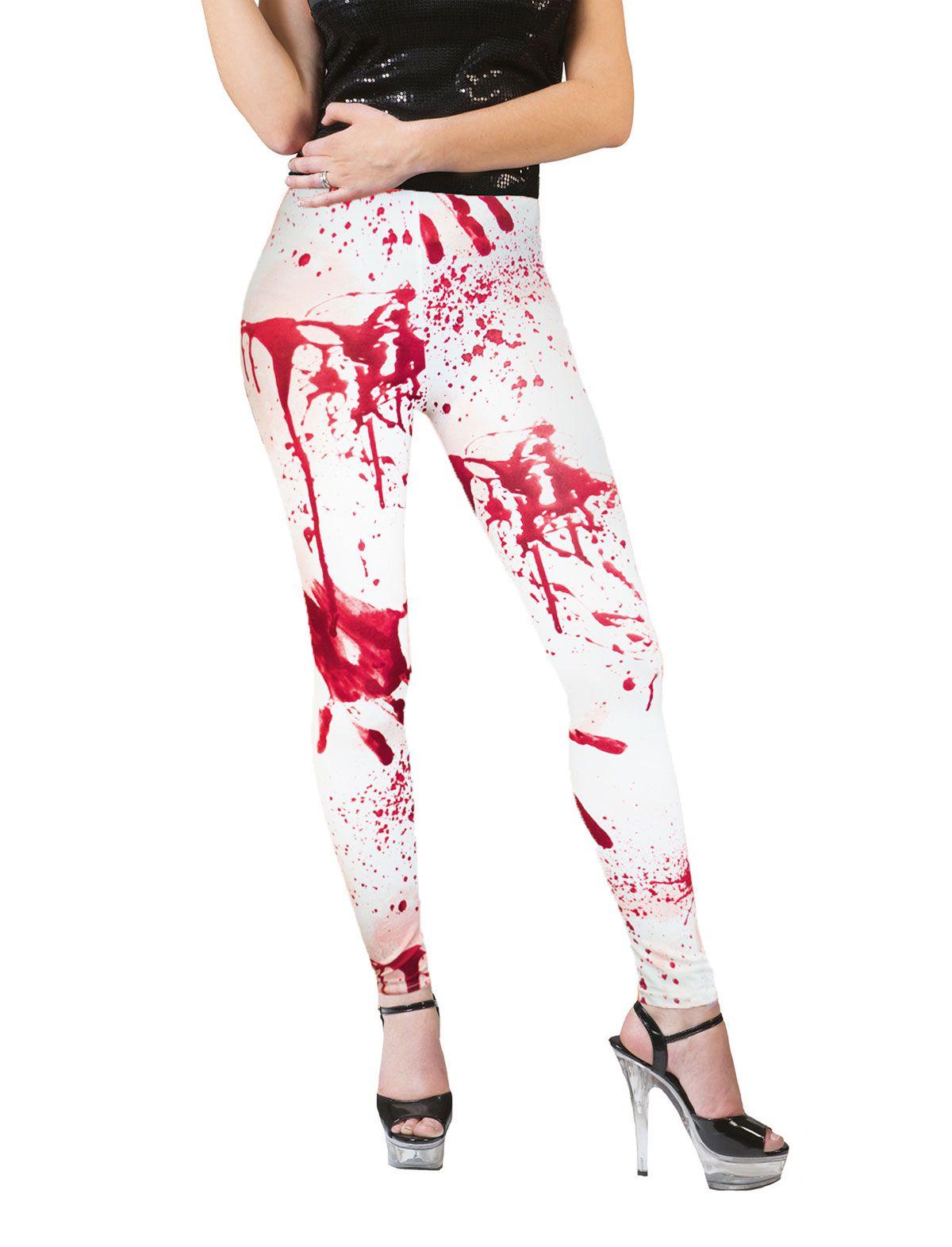 Leggings mit Blut