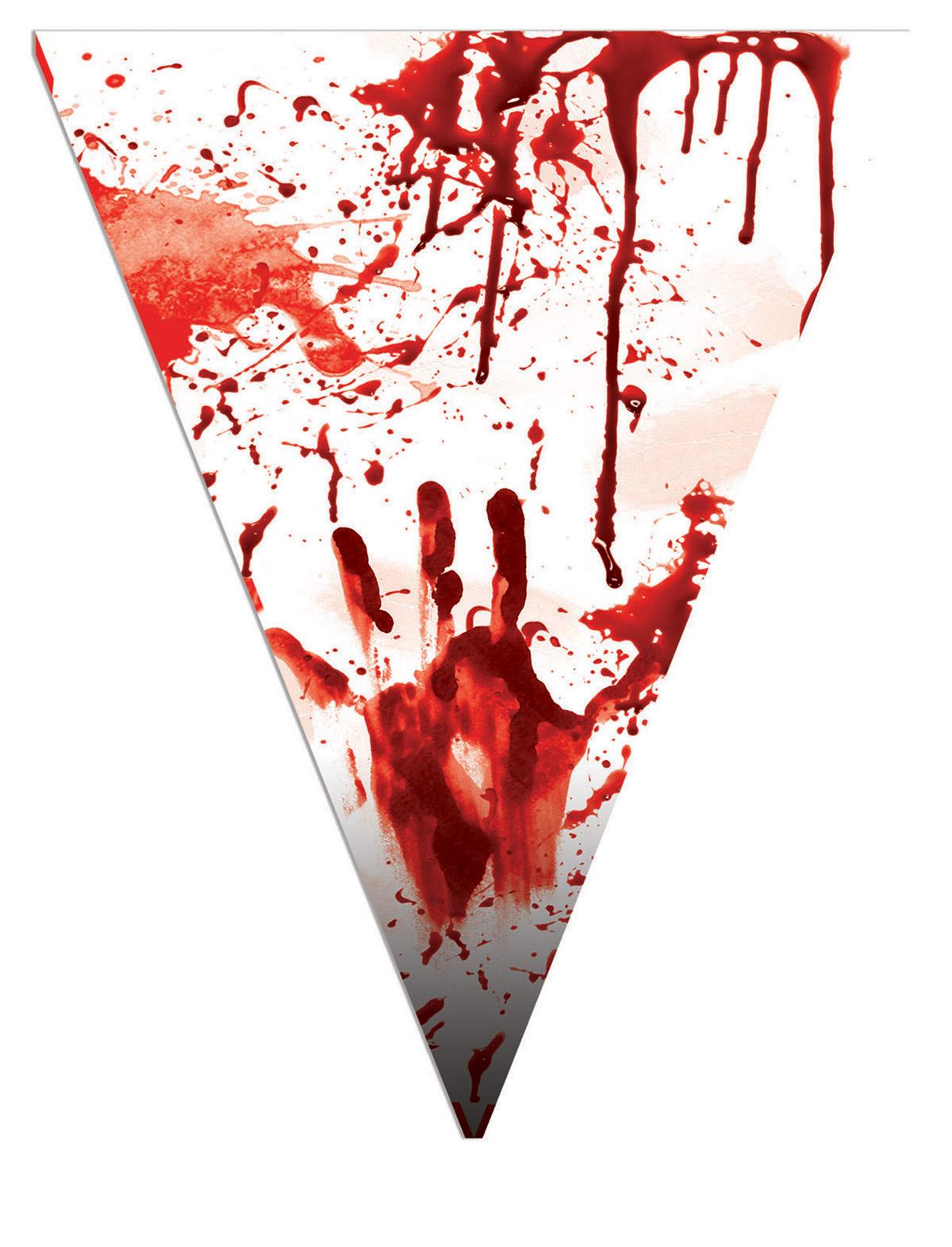 Wimpelkette Blut