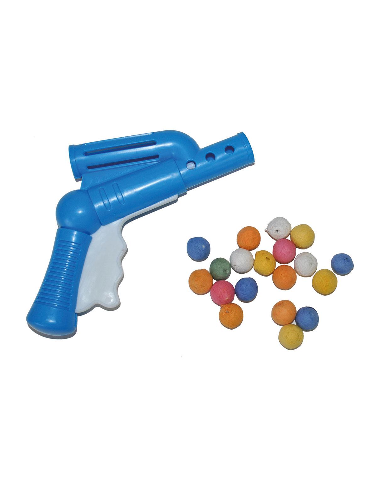 100 Papierkugeln für Pistole